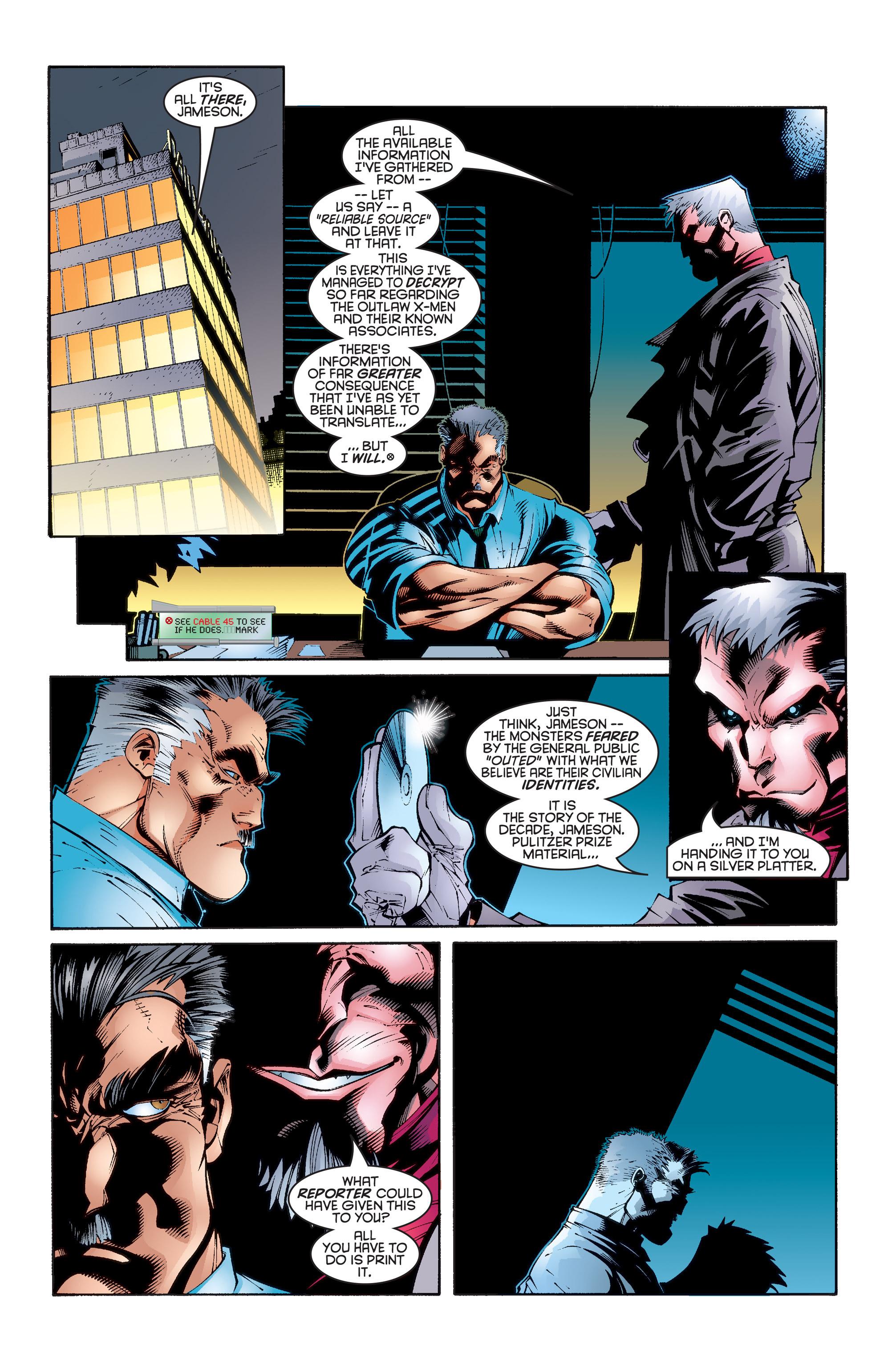 Read online Uncanny X-Men (1963) comic -  Issue #346 - 15