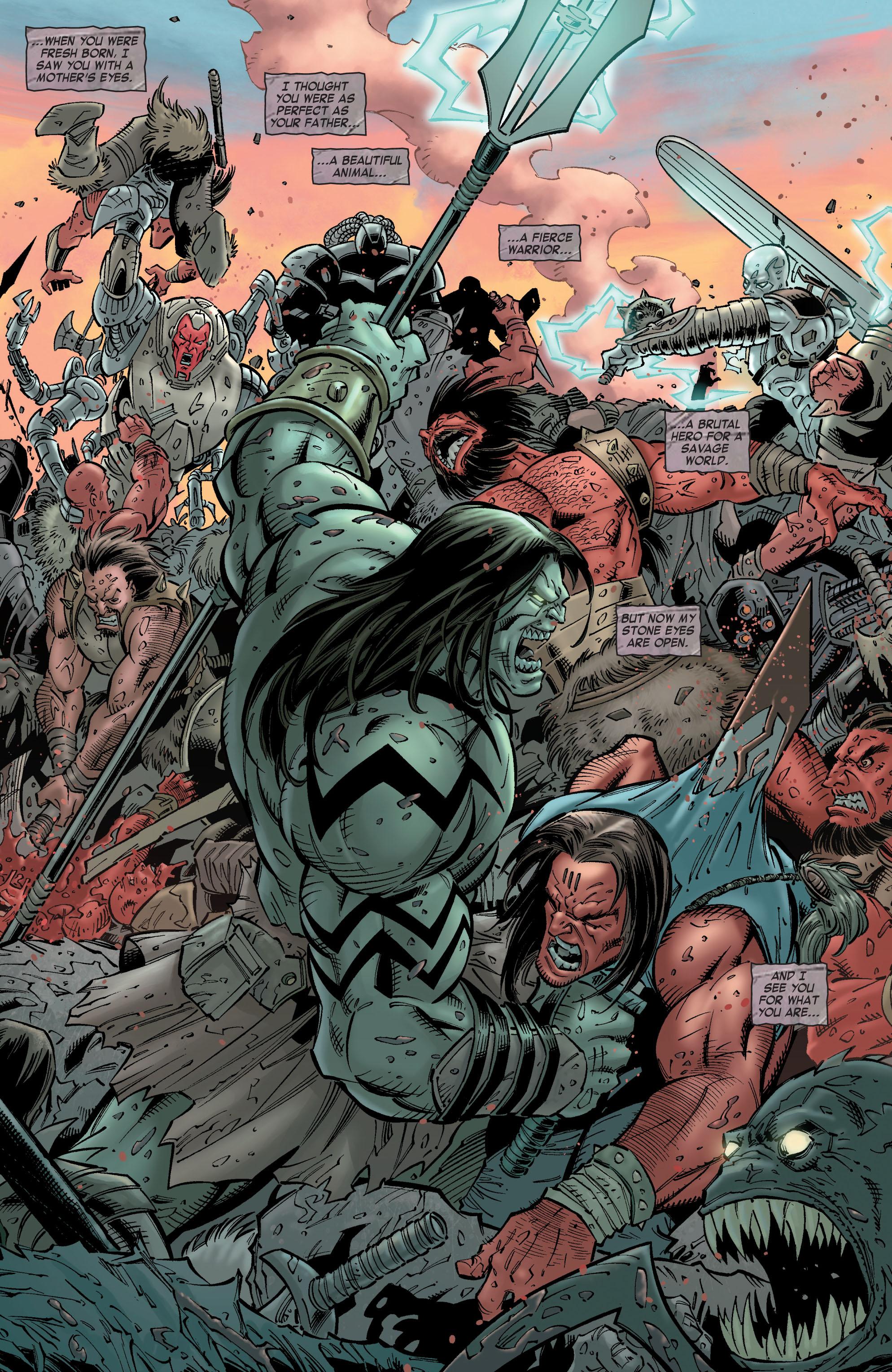 Read online Skaar: Son of Hulk comic -  Issue #8 - 11