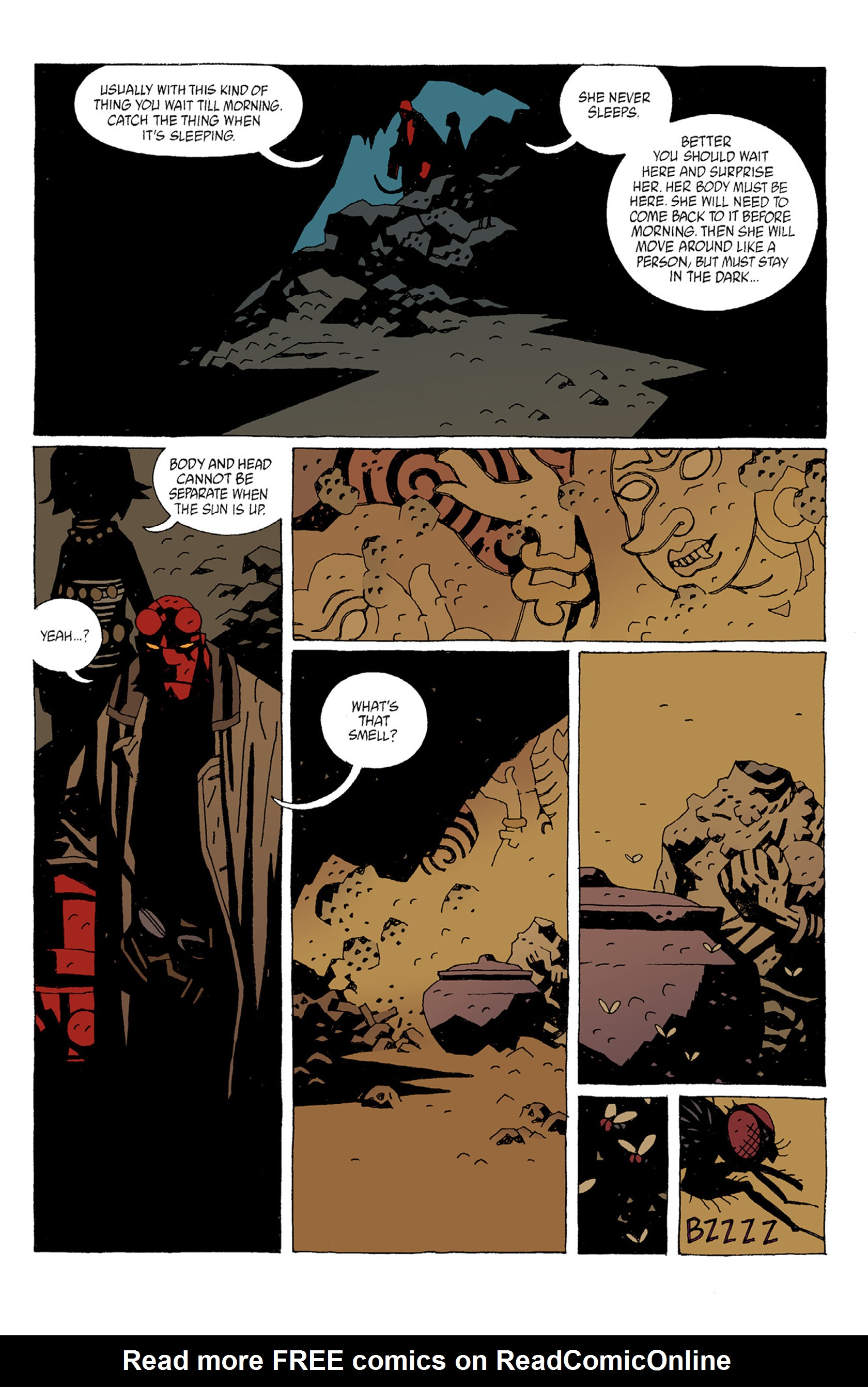 Read online Hellboy: The Troll Witch and Others comic -  Issue # TPB - 11