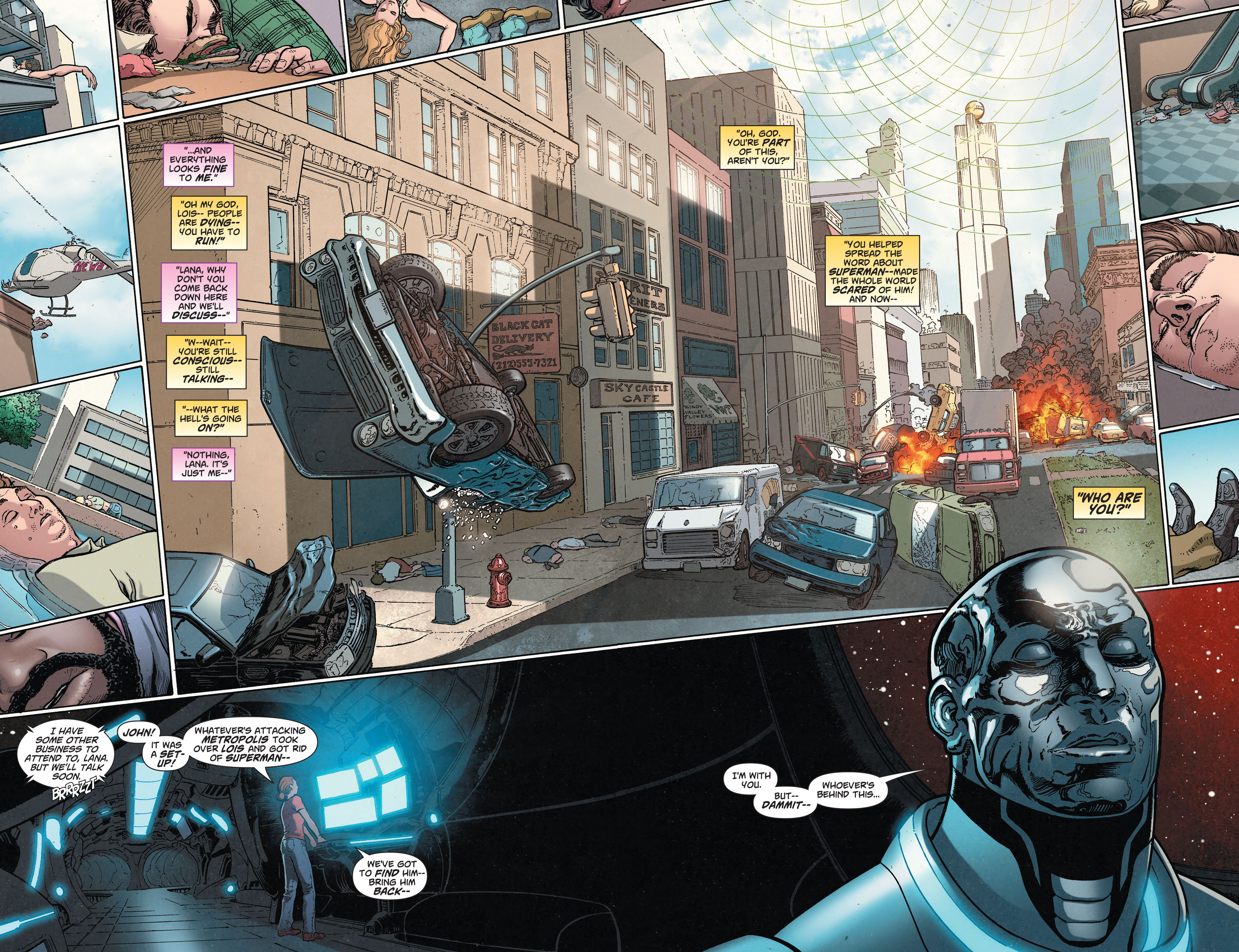 Read online Action Comics (2011) comic -  Issue #33 - 22