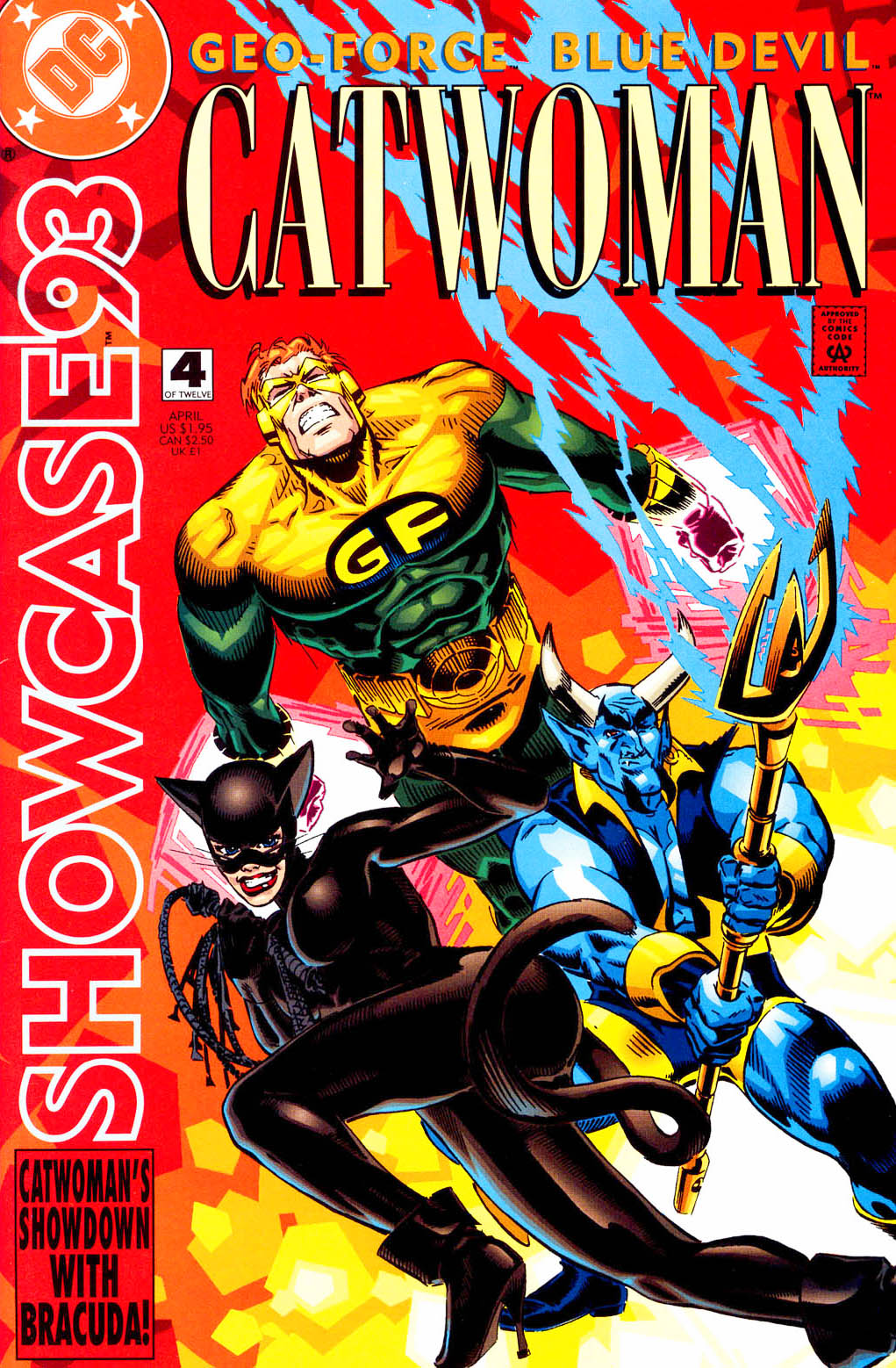 Read online Showcase '93 comic -  Issue #4 - 1