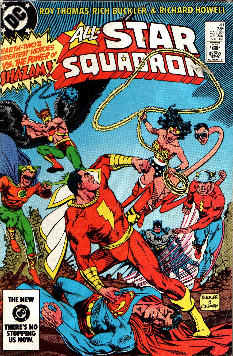 Read online All-Star Squadron comic -  Issue #36 - 1
