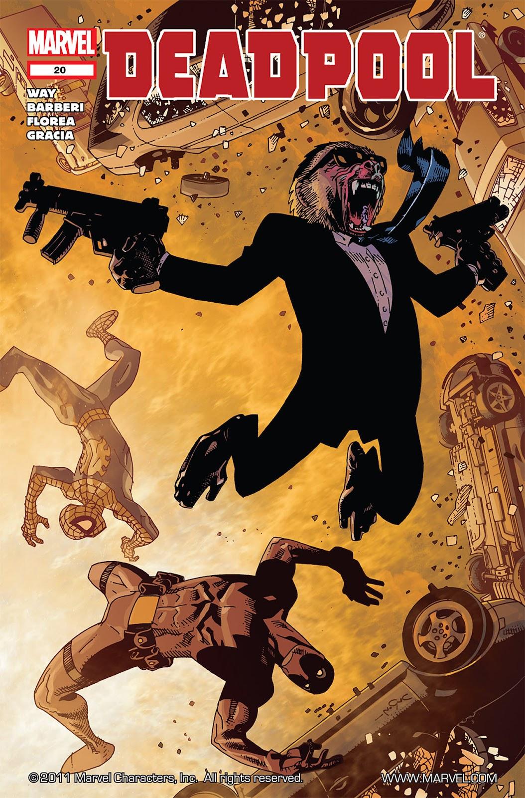 Read online Deadpool (2008) comic -  Issue #20 - 1