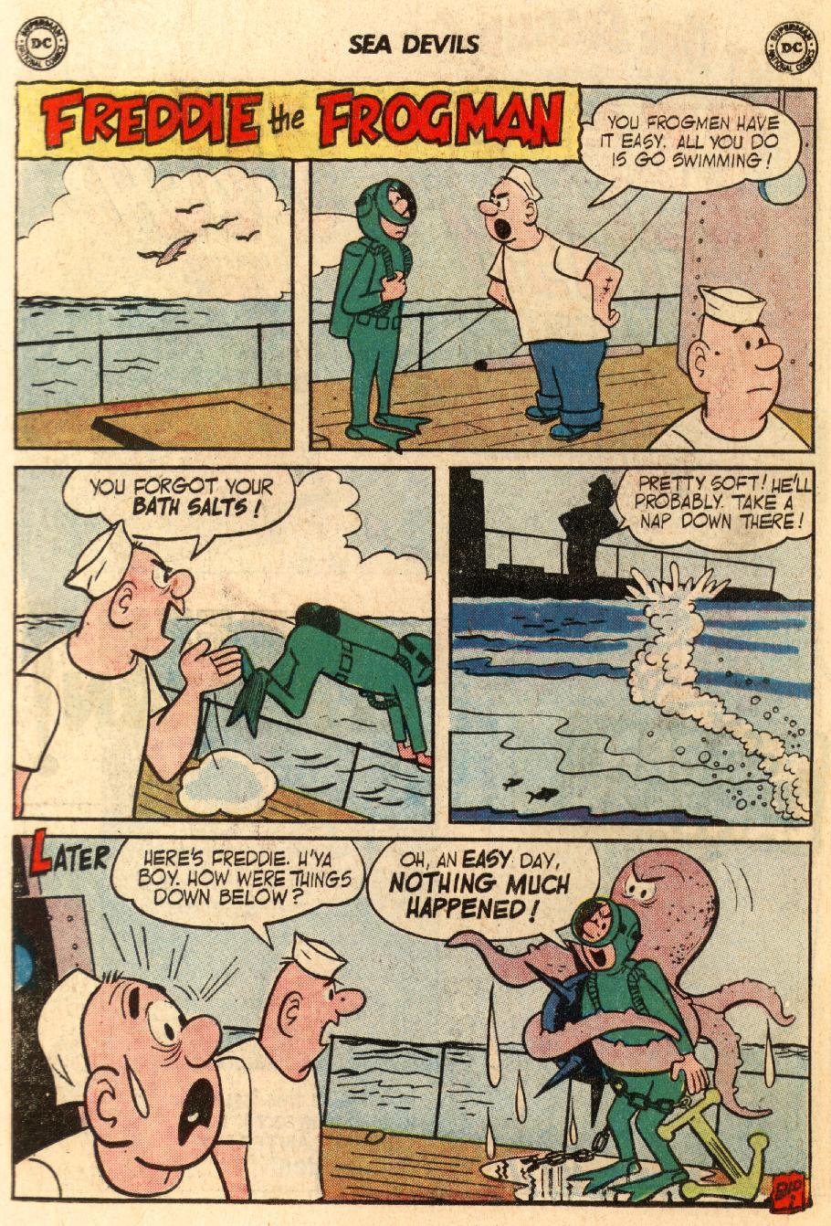 Read online Sea Devils comic -  Issue #5 - 19