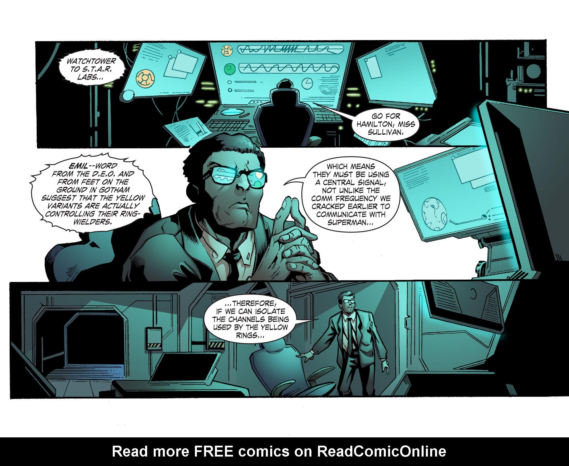 Read online Smallville: Lantern [I] comic -  Issue #10 - 9