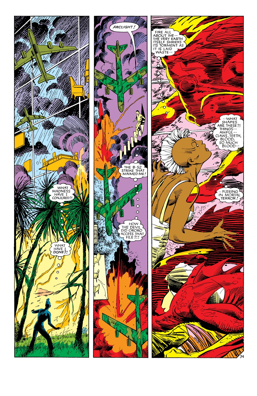 Uncanny X-Men (1963) issue 186 - Page 35