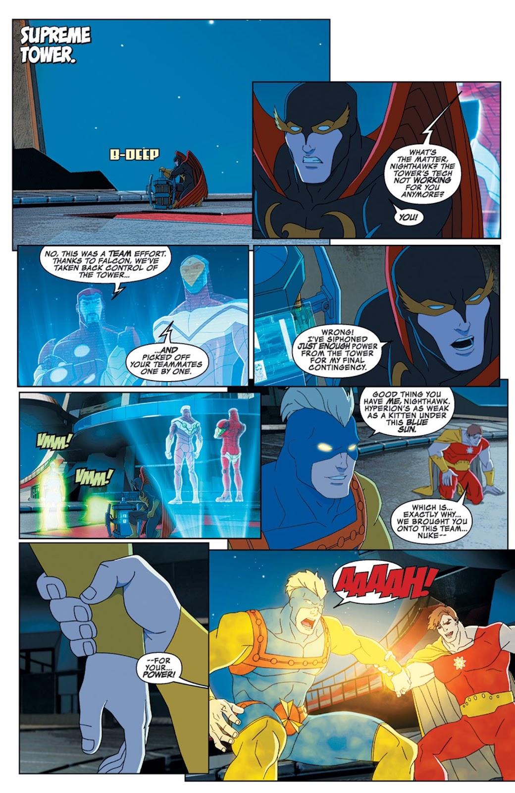 Read online Marvel Universe Avengers Assemble Season 2 comic -  Issue #14 - 17