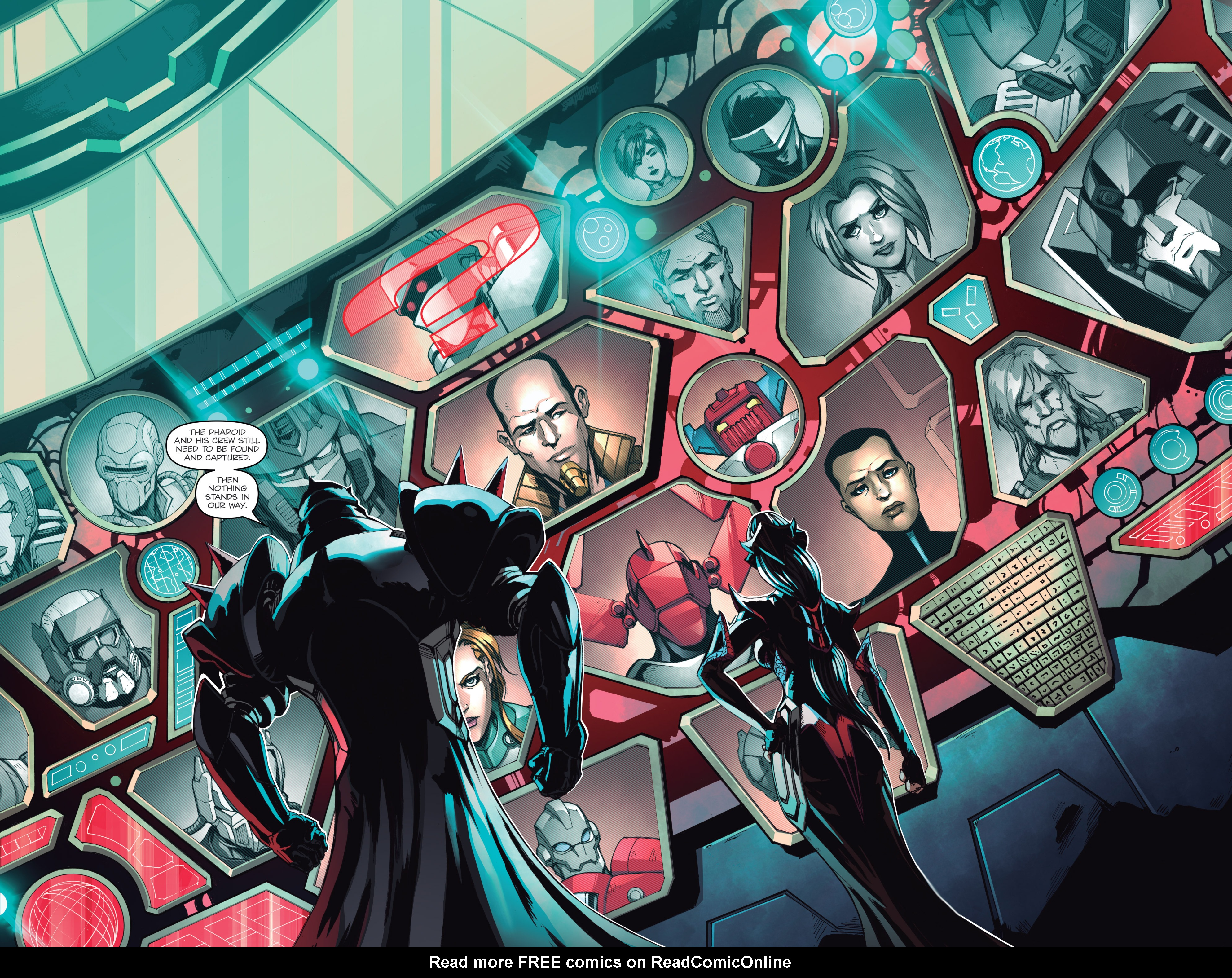 Read online Micronauts: Wrath of Karza comic -  Issue #2 - 6
