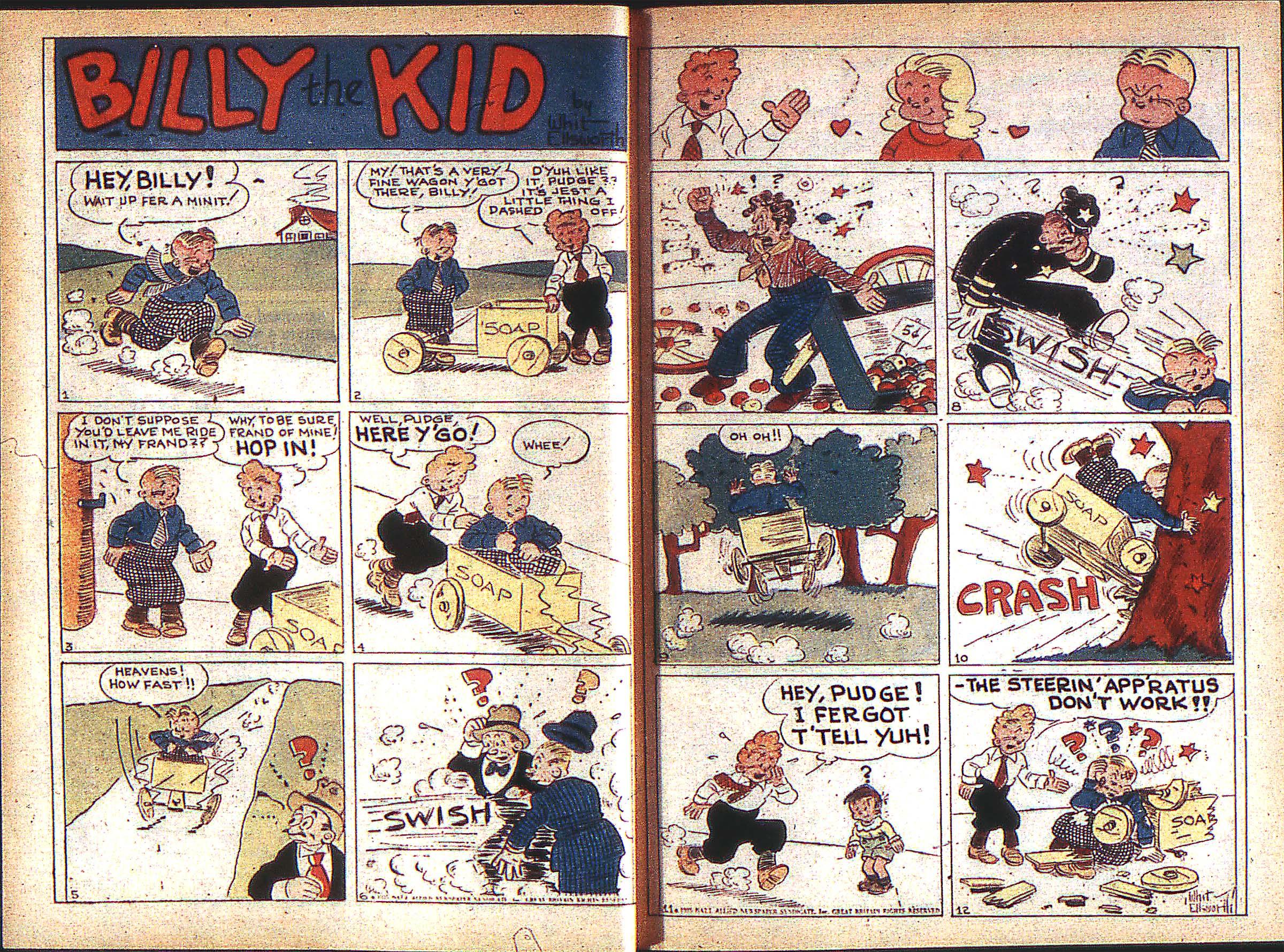 Read online Adventure Comics (1938) comic -  Issue #1 - 6