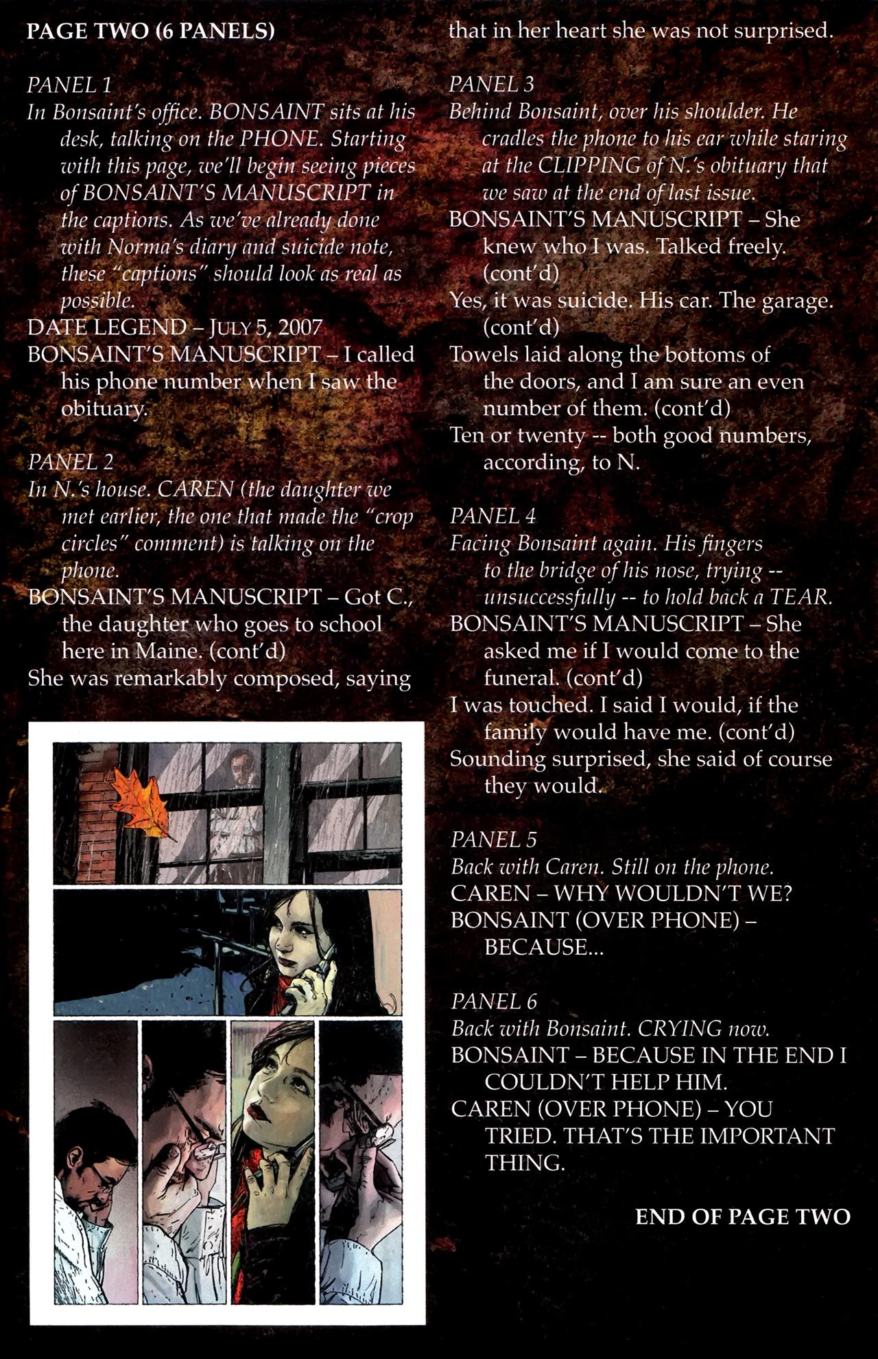 Read online Stephen King's N. comic -  Issue #3 - 26
