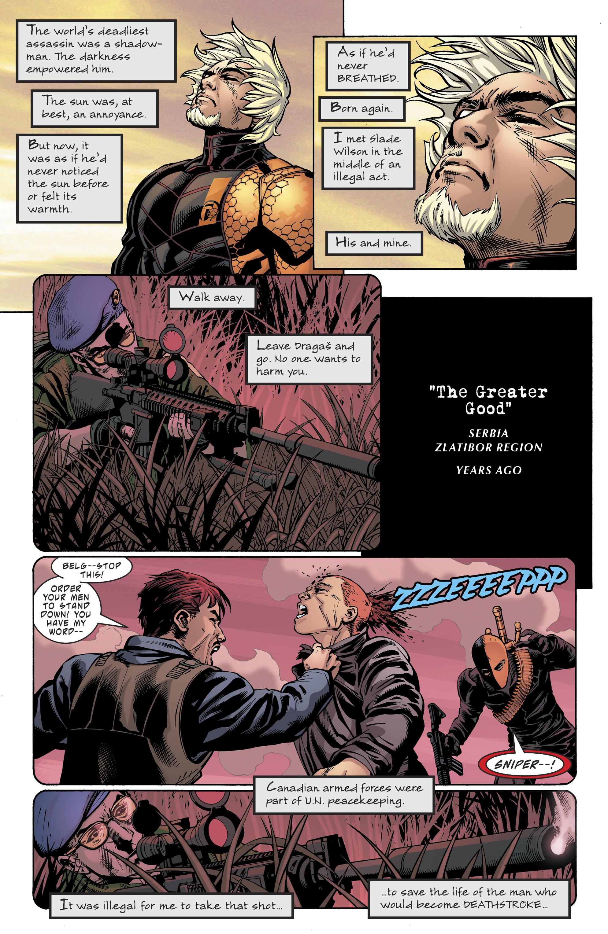 Read online Deathstroke (2016) comic -  Issue #20 - 5