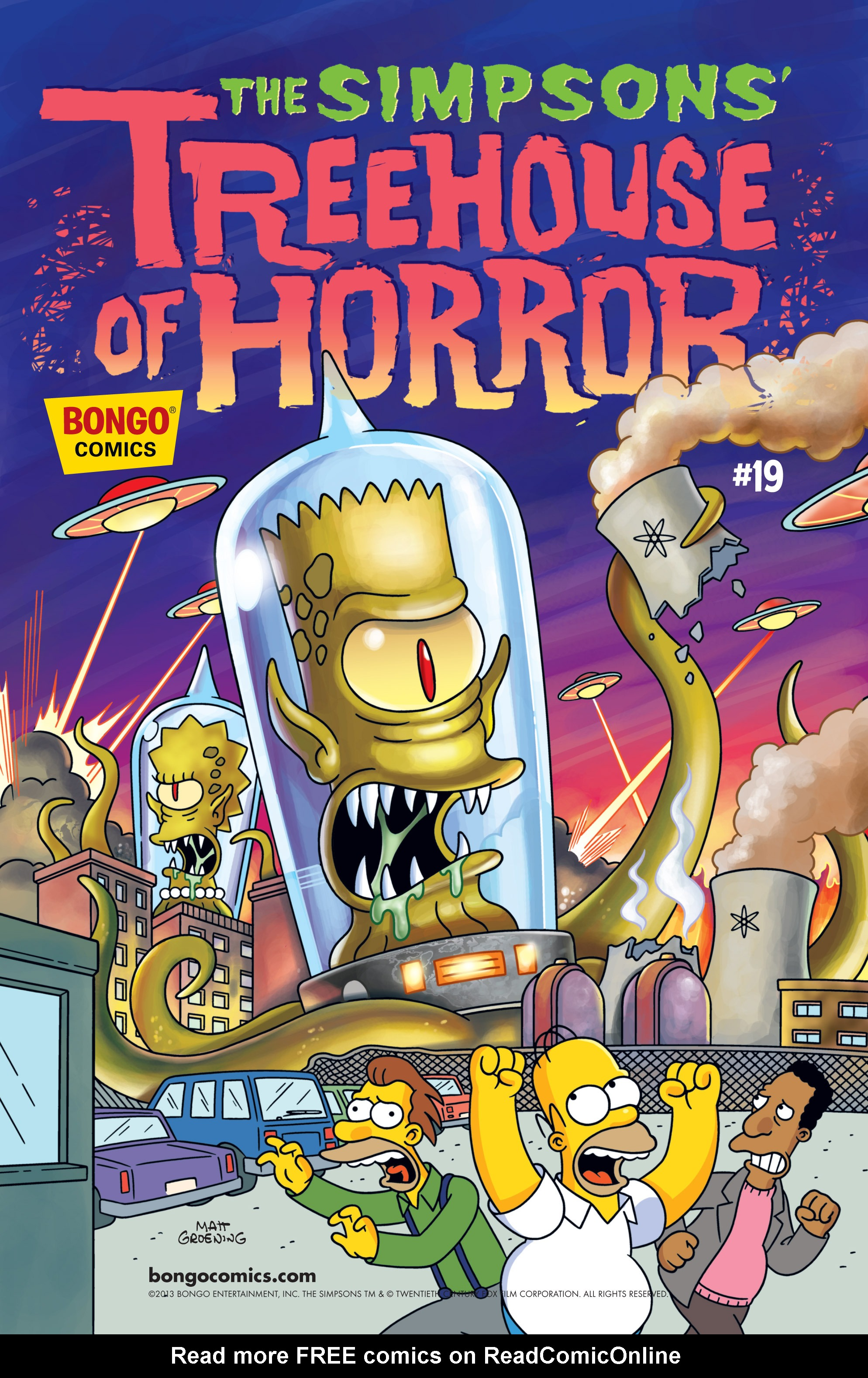 Read online Treehouse of Horror comic -  Issue #19 - 2
