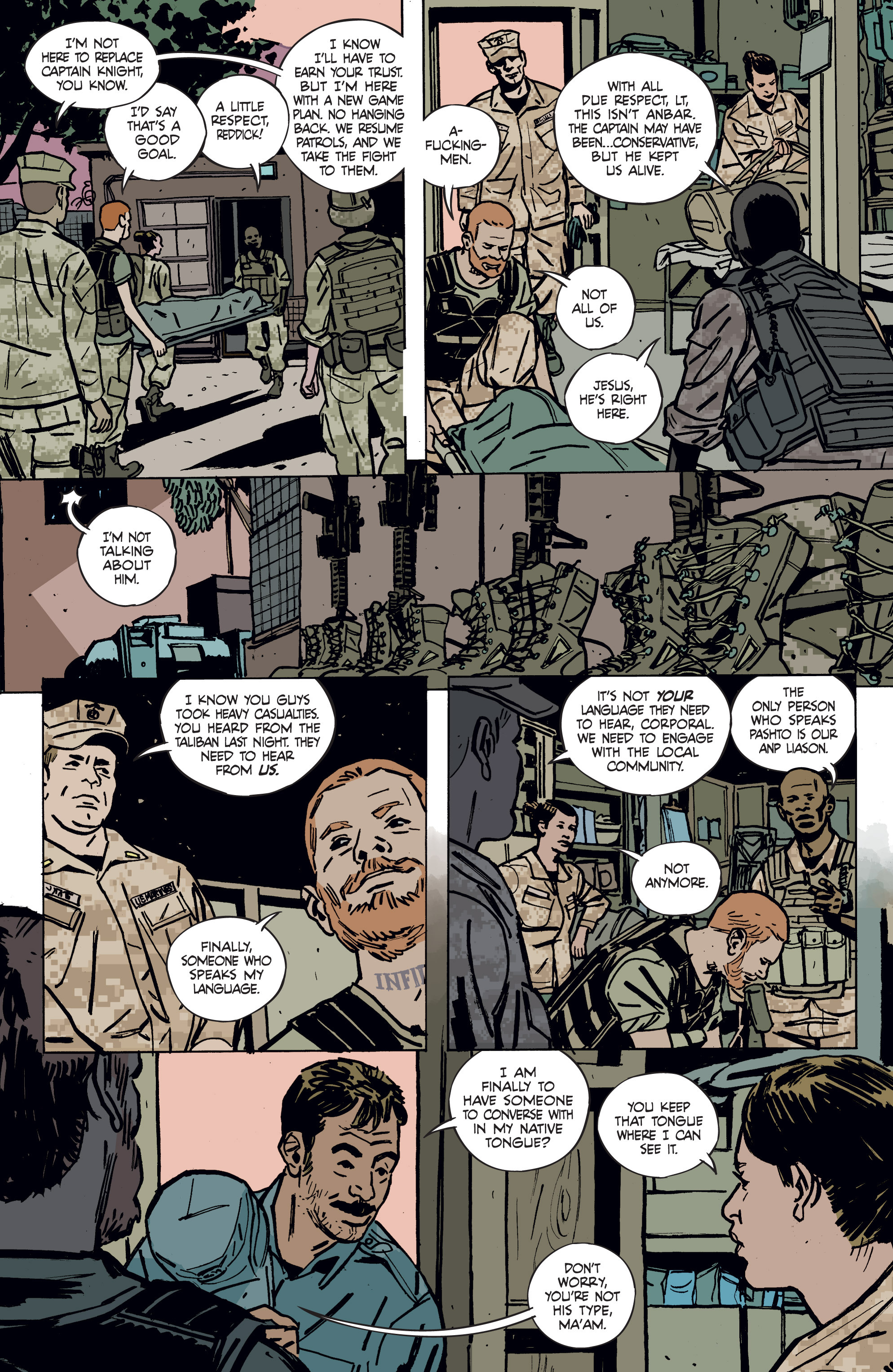 Read online Graveyard of Empires comic -  Issue # TPB - 25