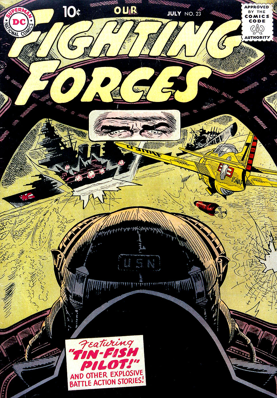 Our Fighting Forces (1954) issue 23 - Page 1