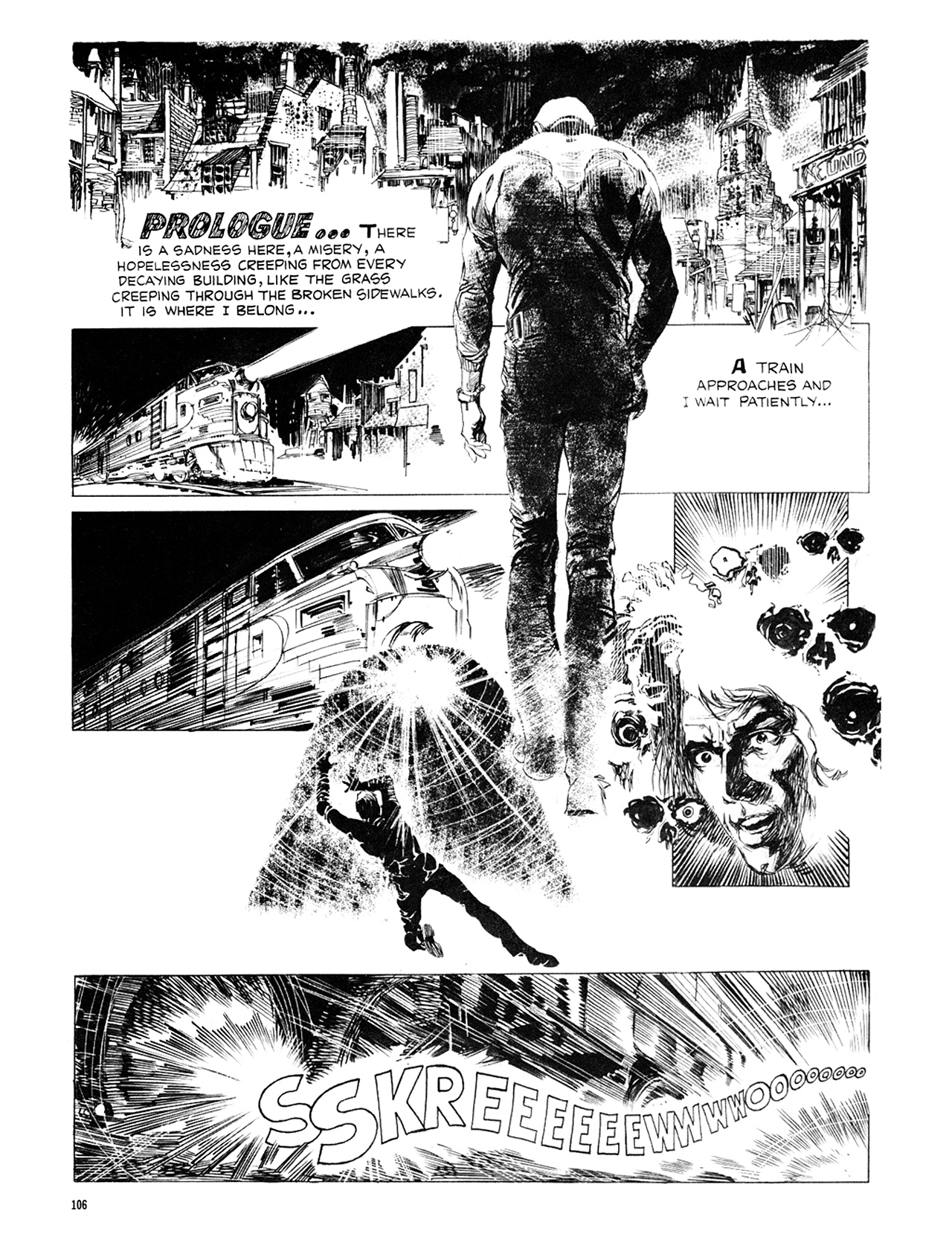 Read online Eerie Archives comic -  Issue # TPB 8 - 107