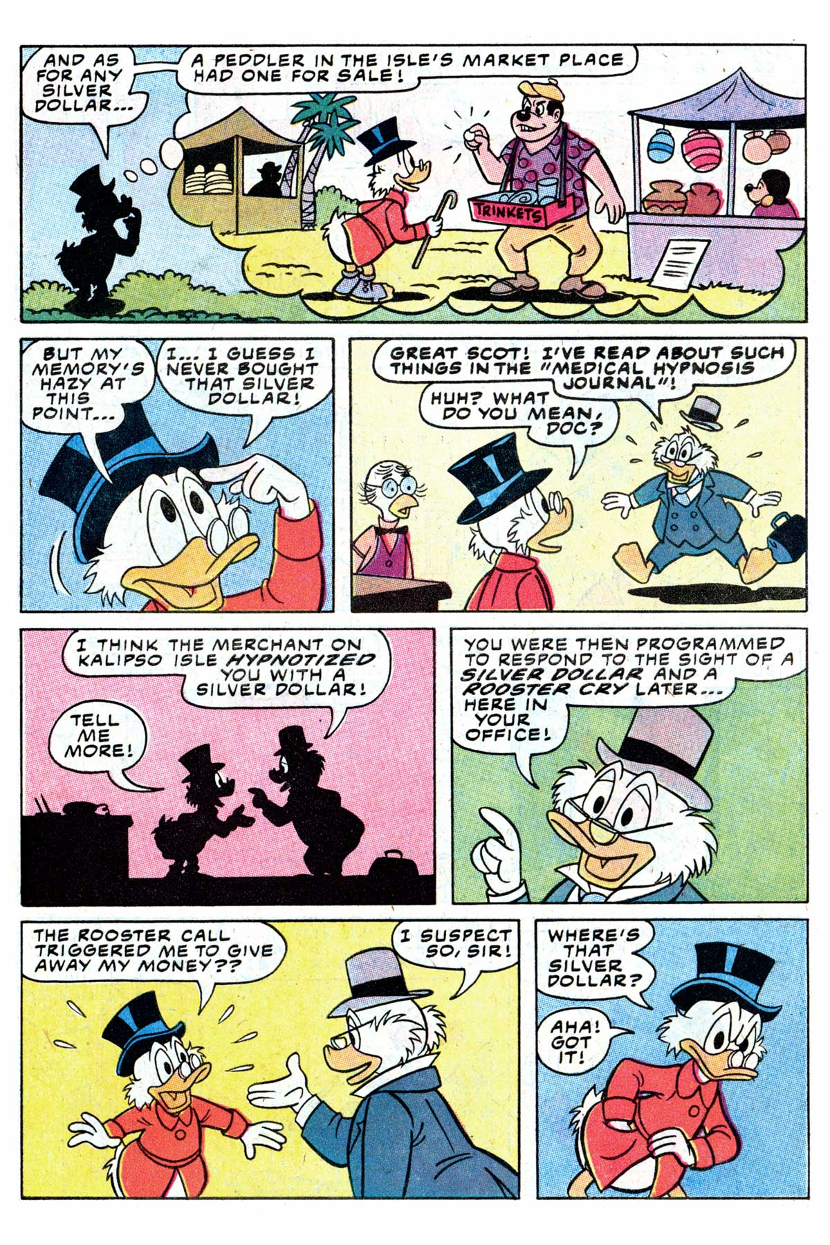 Read online Uncle Scrooge (1953) comic -  Issue #192 - 7