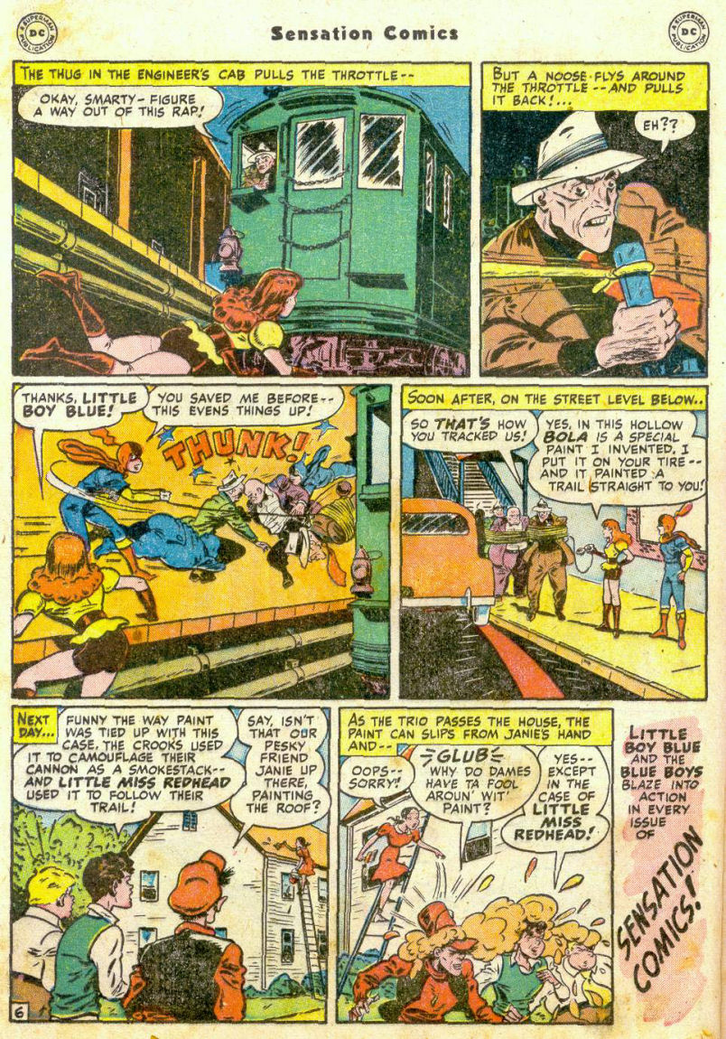 Read online Sensation (Mystery) Comics comic -  Issue #75 - 21