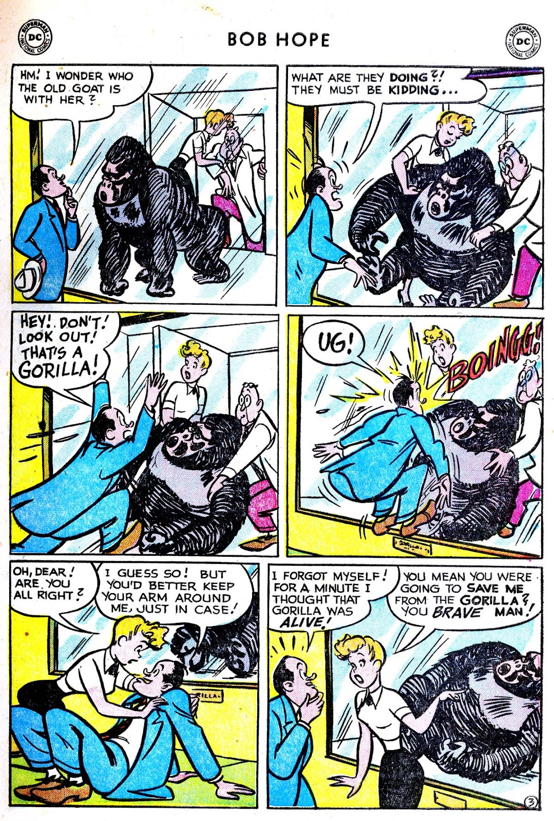 The Adventures of Bob Hope issue 33 - Page 5