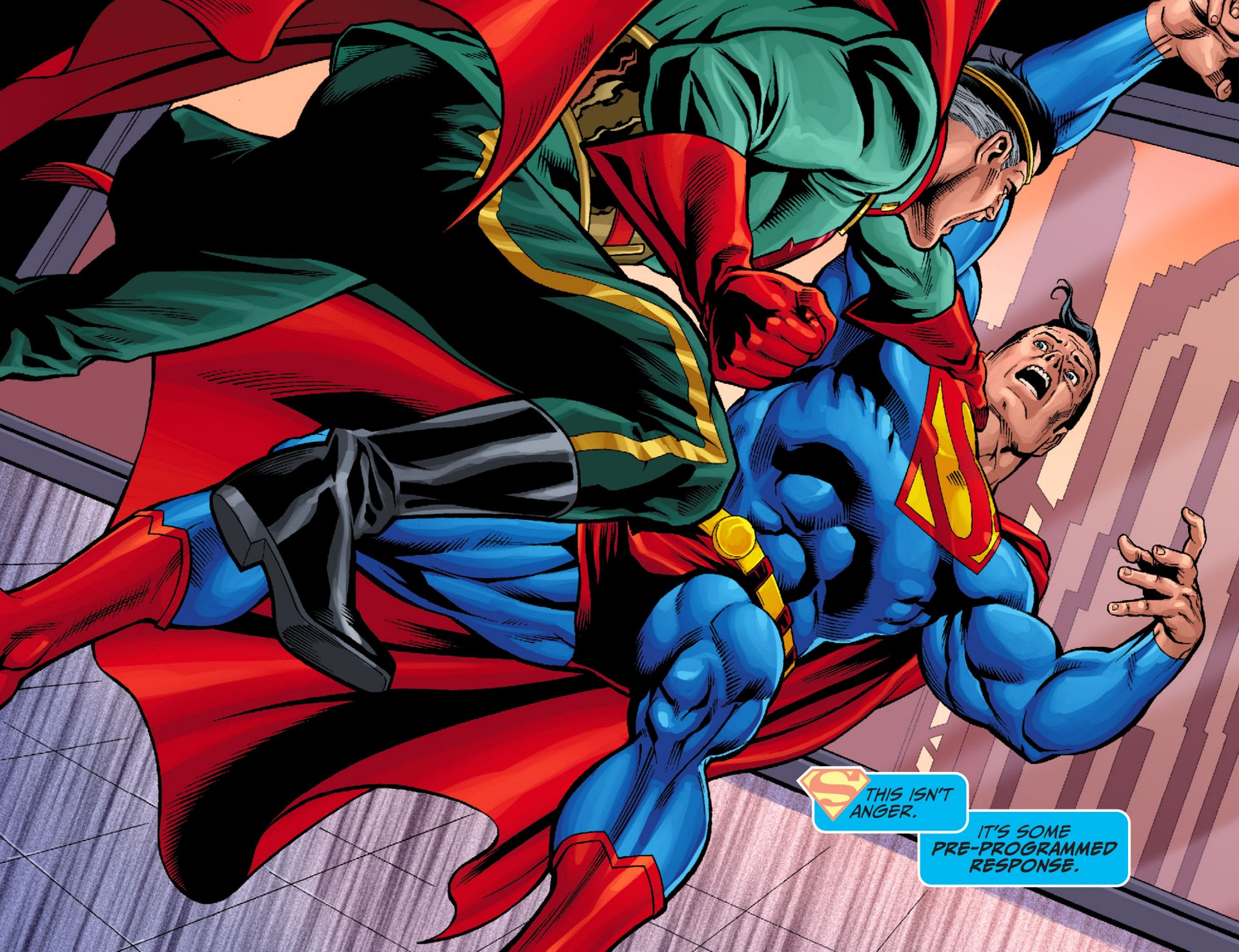 Read online Adventures of Superman [I] comic -  Issue #24 - 4