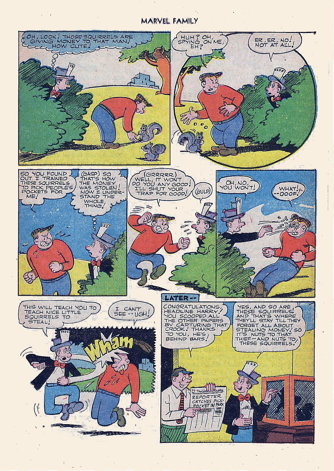 The Marvel Family issue 61 - Page 21