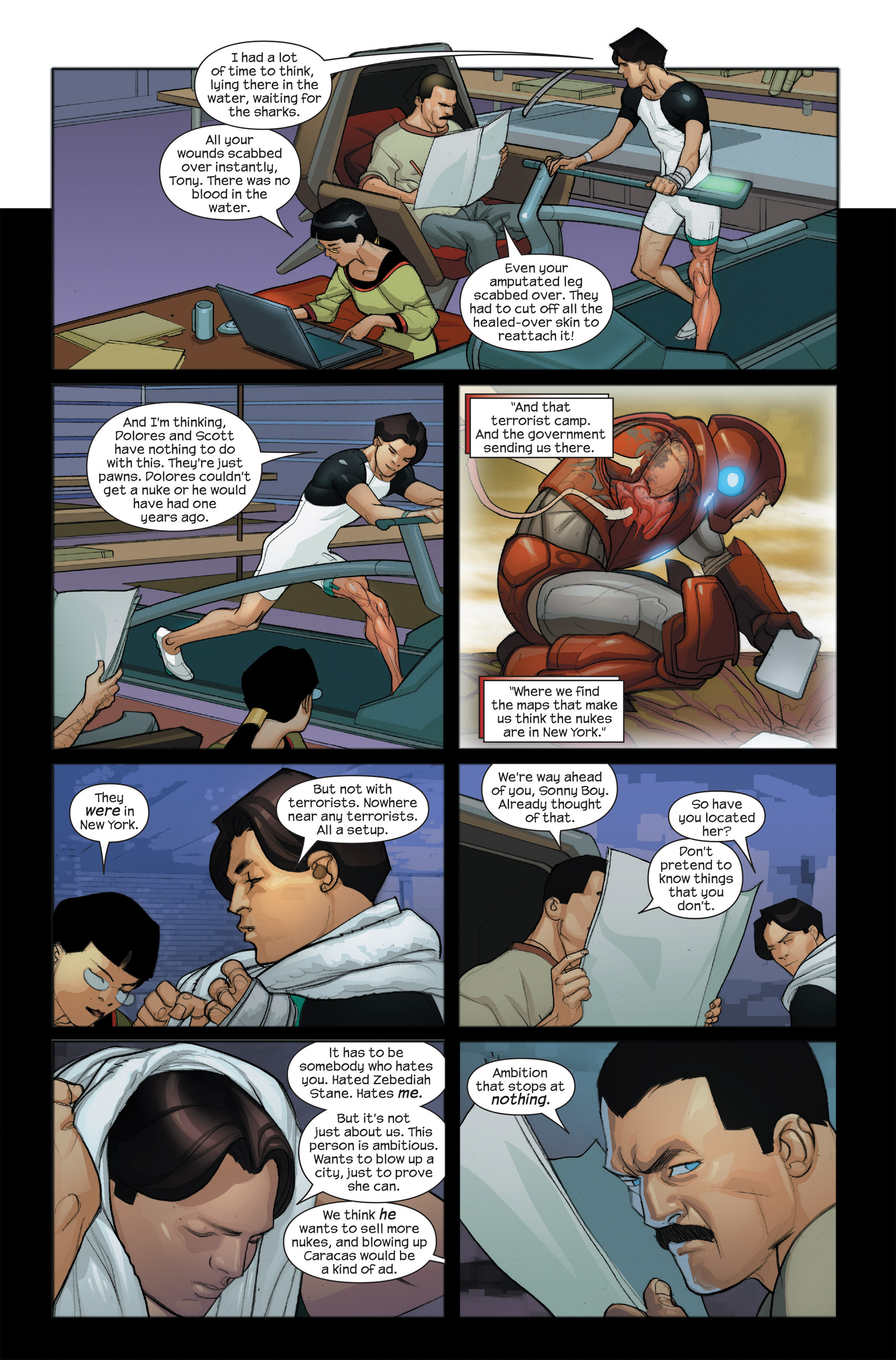 Read online Ultimate Iron Man II comic -  Issue #4 - 23