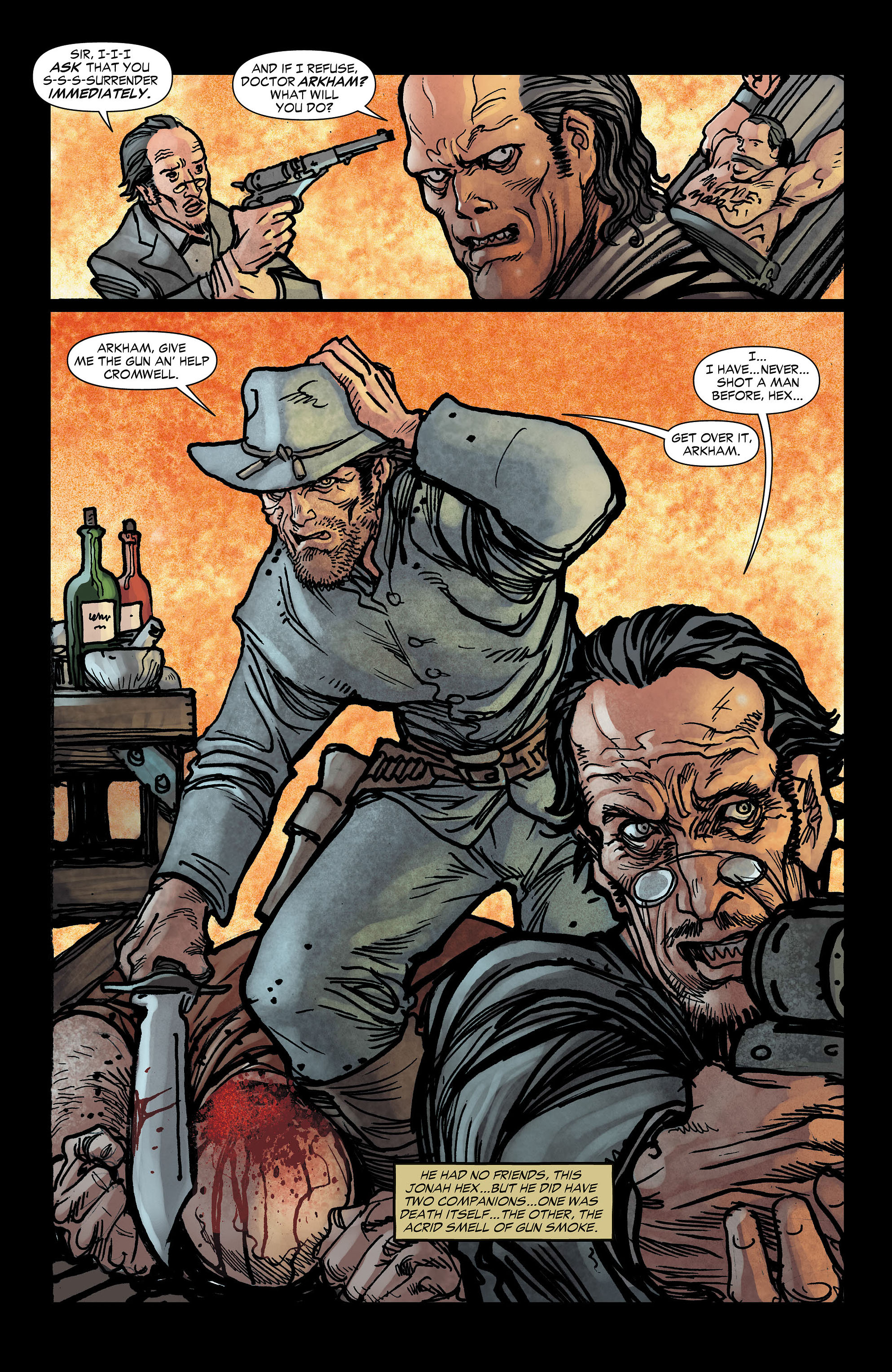 Read online All-Star Western (2011) comic -  Issue #3 - 3