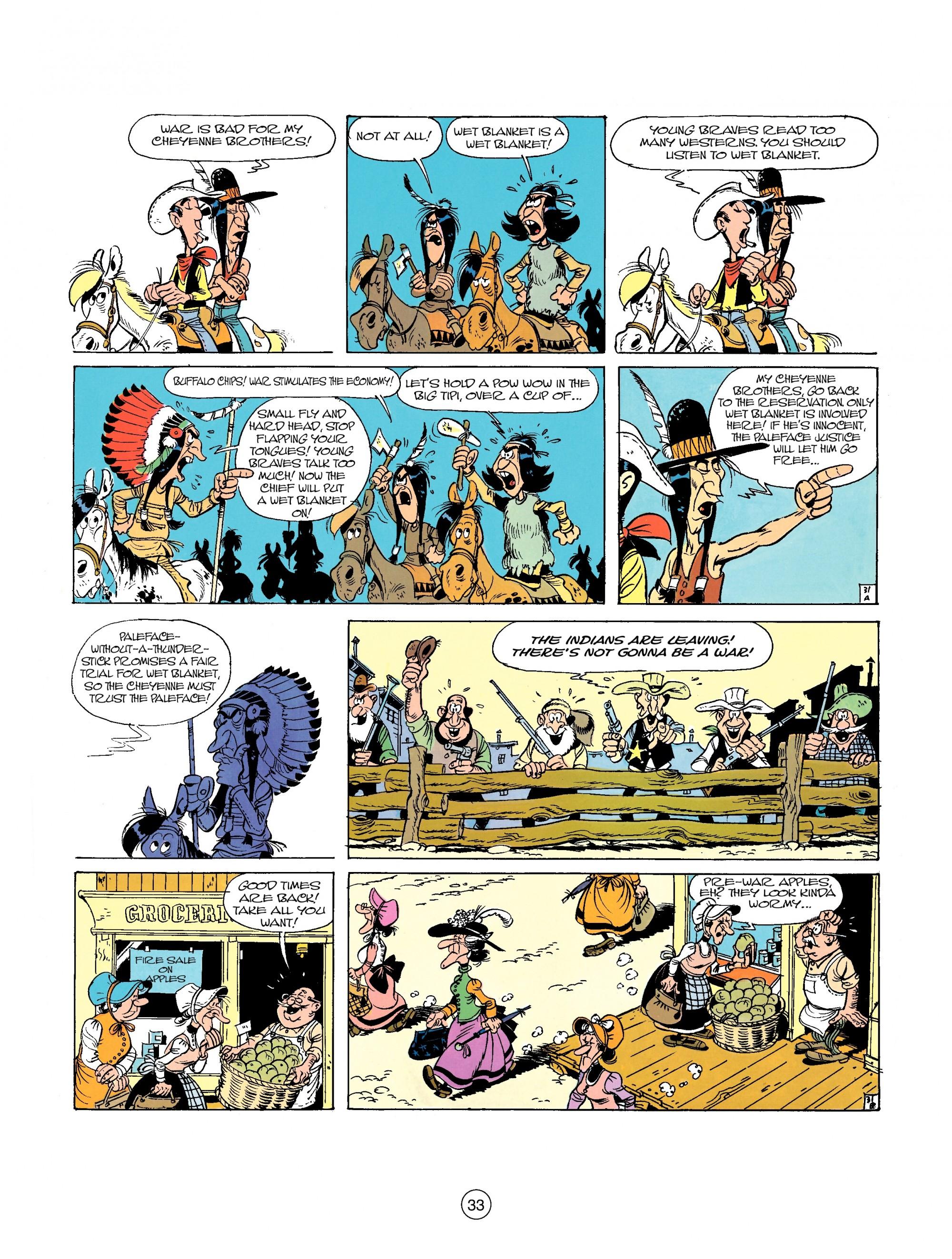 Read online A Lucky Luke Adventure comic -  Issue #26 - 33