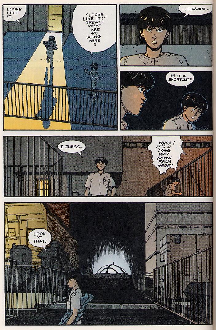 Read online Akira comic -  Issue #8 - 50