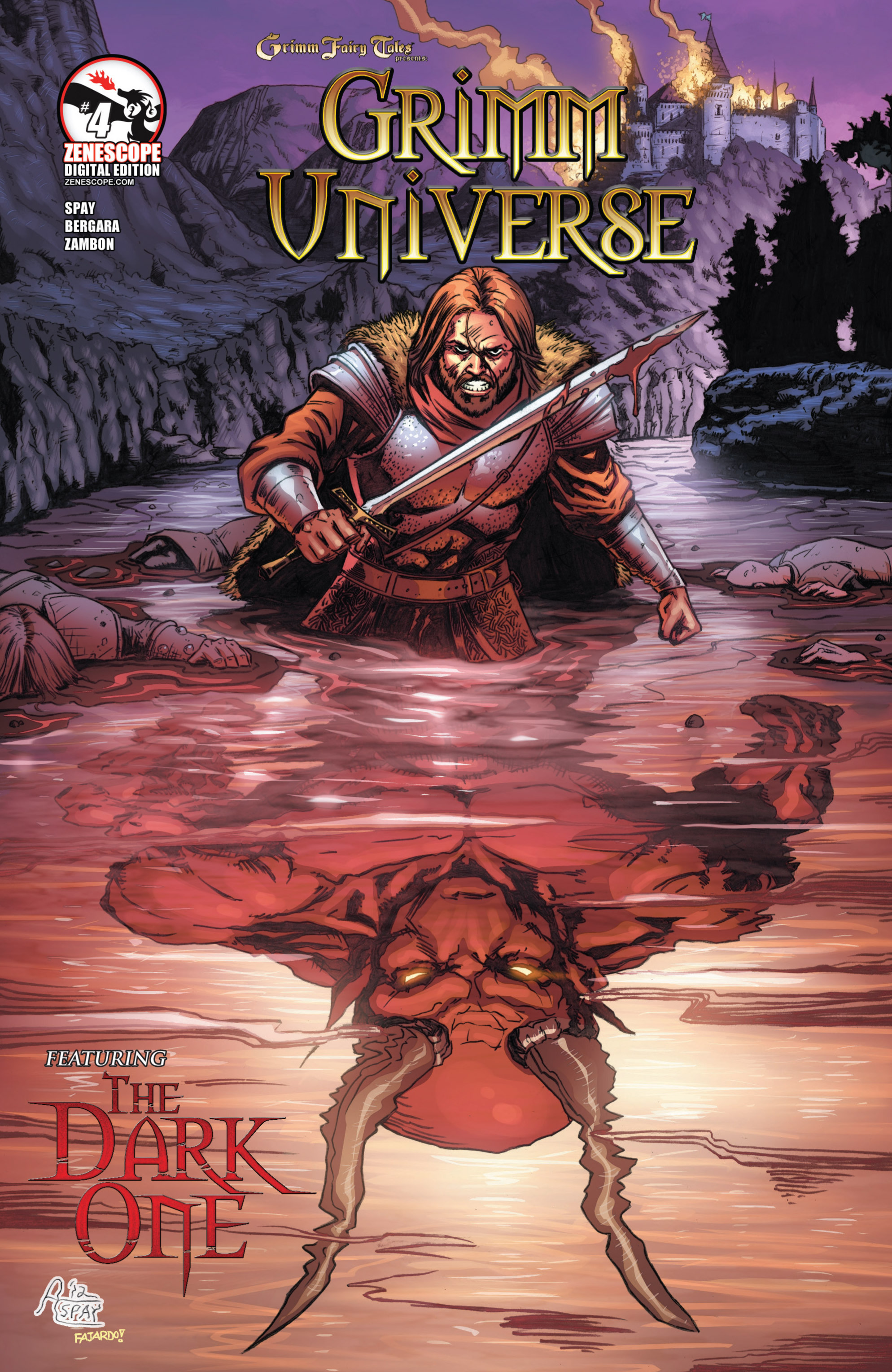 Read online Grimm Fairy Tales presents Grimm Universe comic -  Issue # TPB - 128
