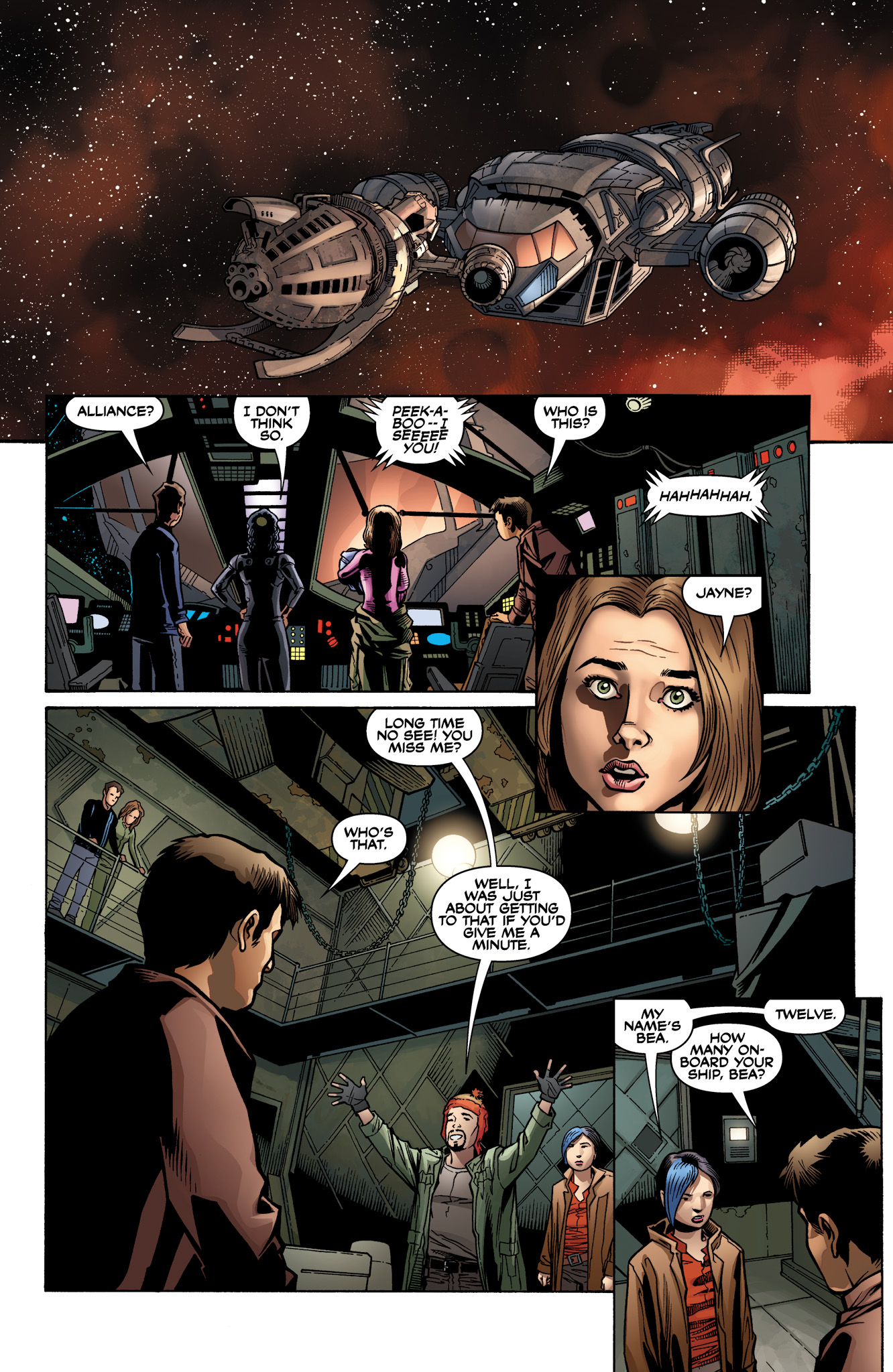 Read online Serenity: Firefly Class 03-K64  Leaves on the Wind comic -  Issue #2 - 15