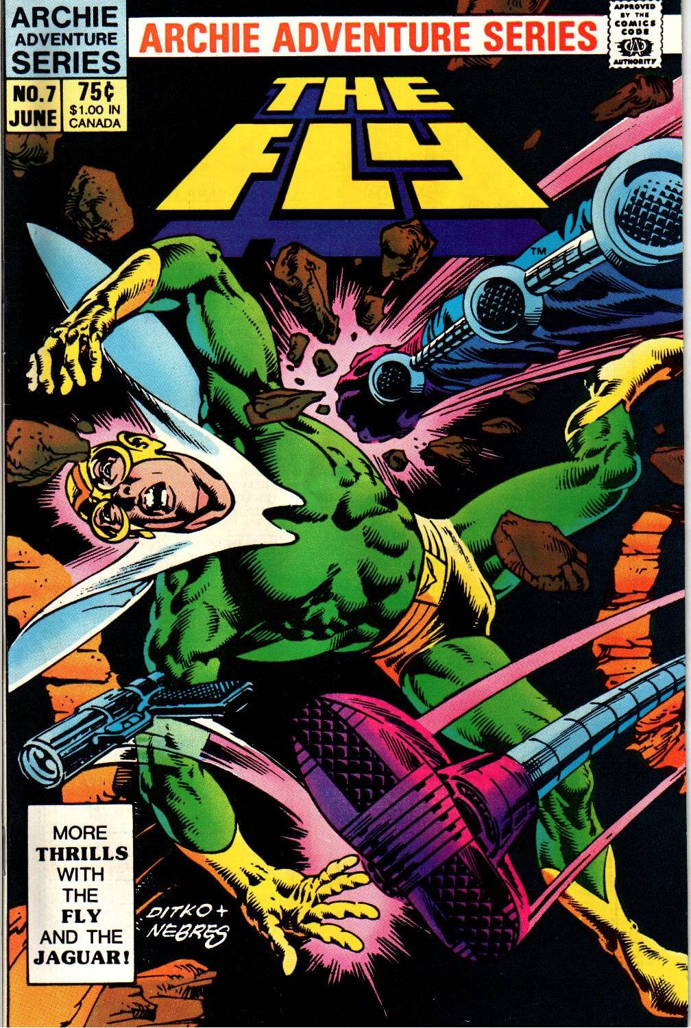 Read online The Fly (1983) comic -  Issue #7 - 1