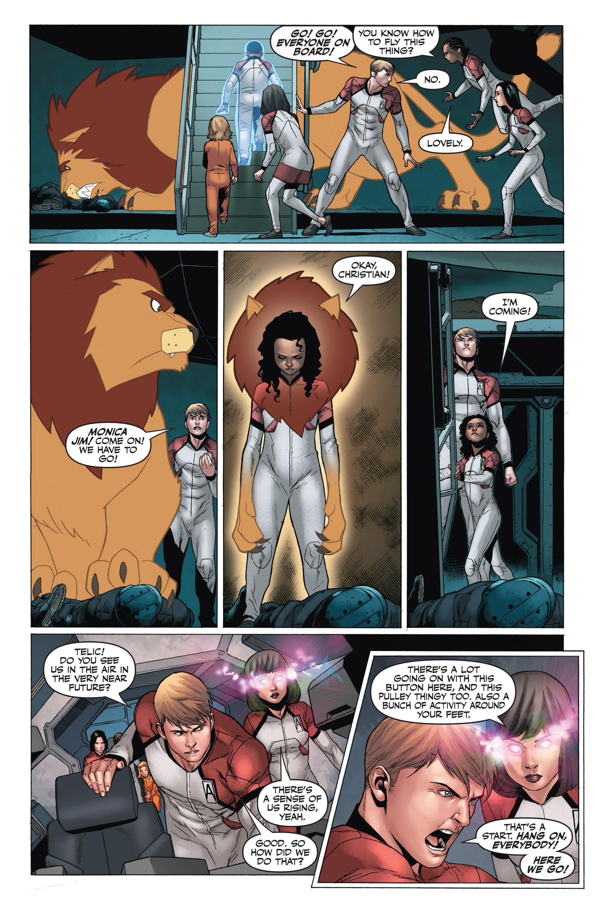 Read online Armor Hunters: Harbinger comic -  Issue # TPB - 101