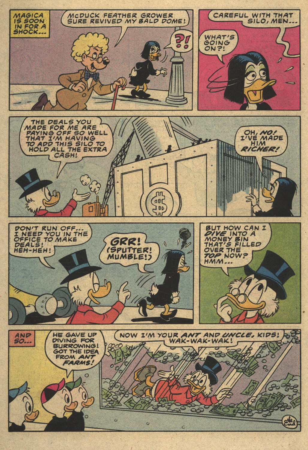 Read online Uncle Scrooge (1953) comic -  Issue #194 - 22