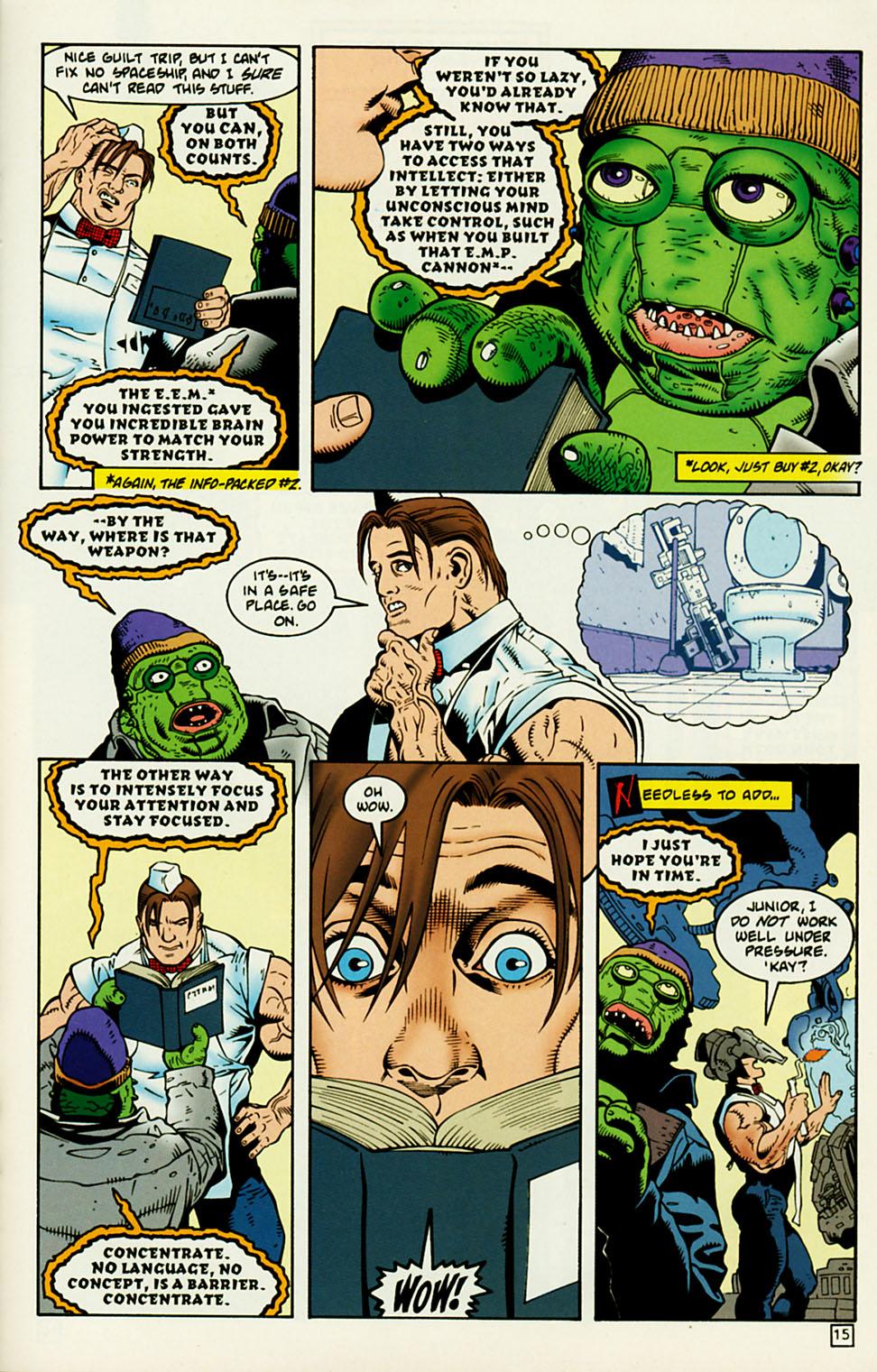 Comic Major Bummer issue 5
