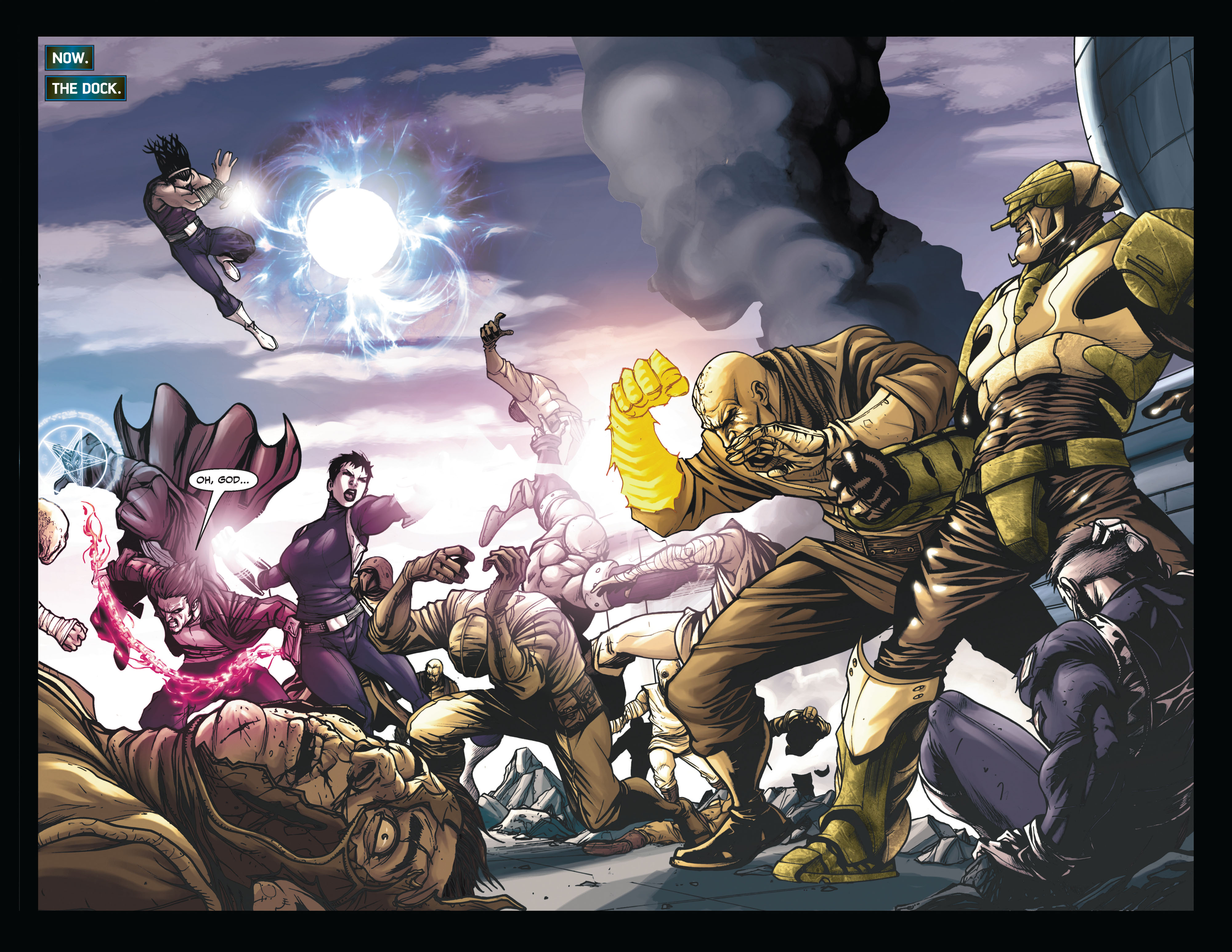 Read online Secret Warriors comic -  Issue #6 - 6