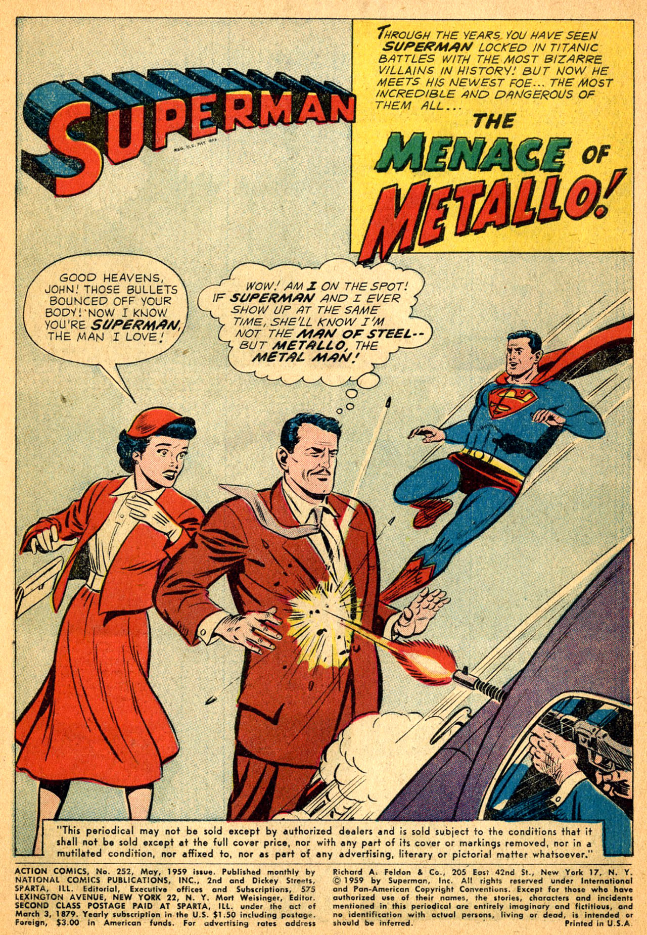 Read online Action Comics (1938) comic -  Issue #252 - 3