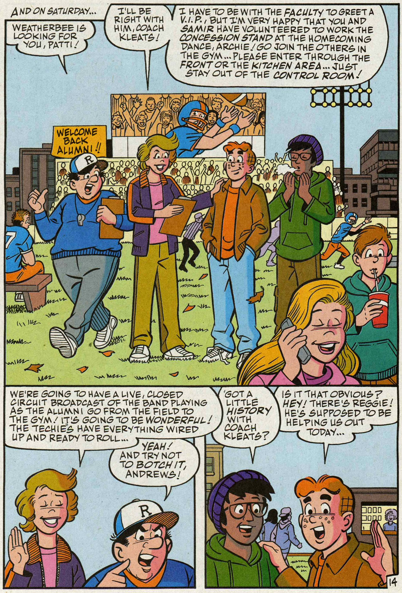 Read online Archie (1960) comic -  Issue #588 - 15