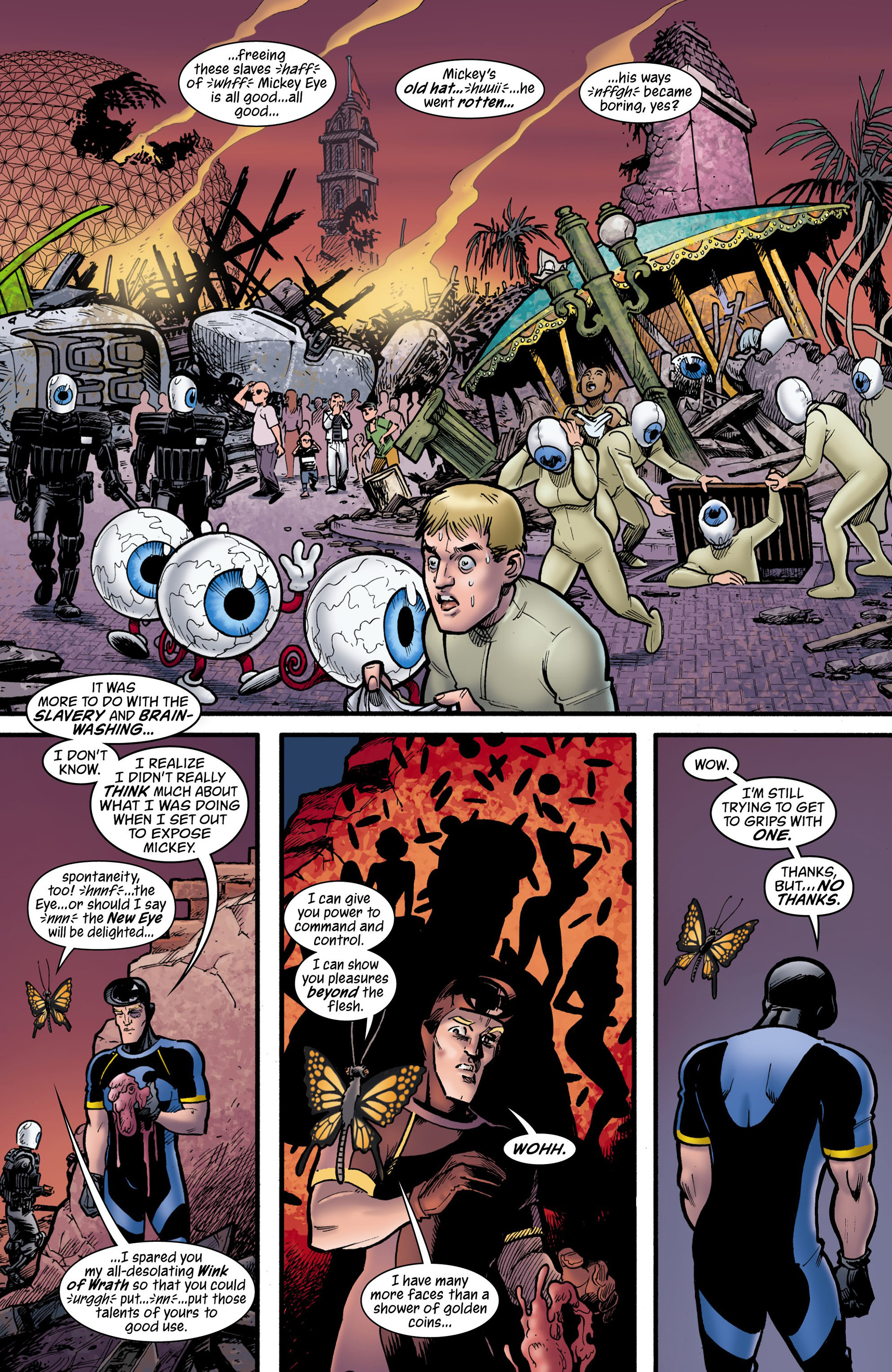 Read online Seaguy: The Slaves of Mickey Eye comic -  Issue #3 - 26