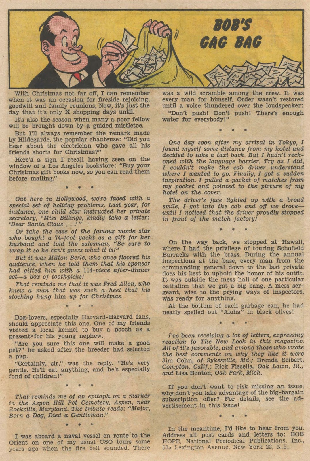 The Adventures of Bob Hope issue 90 - Page 10