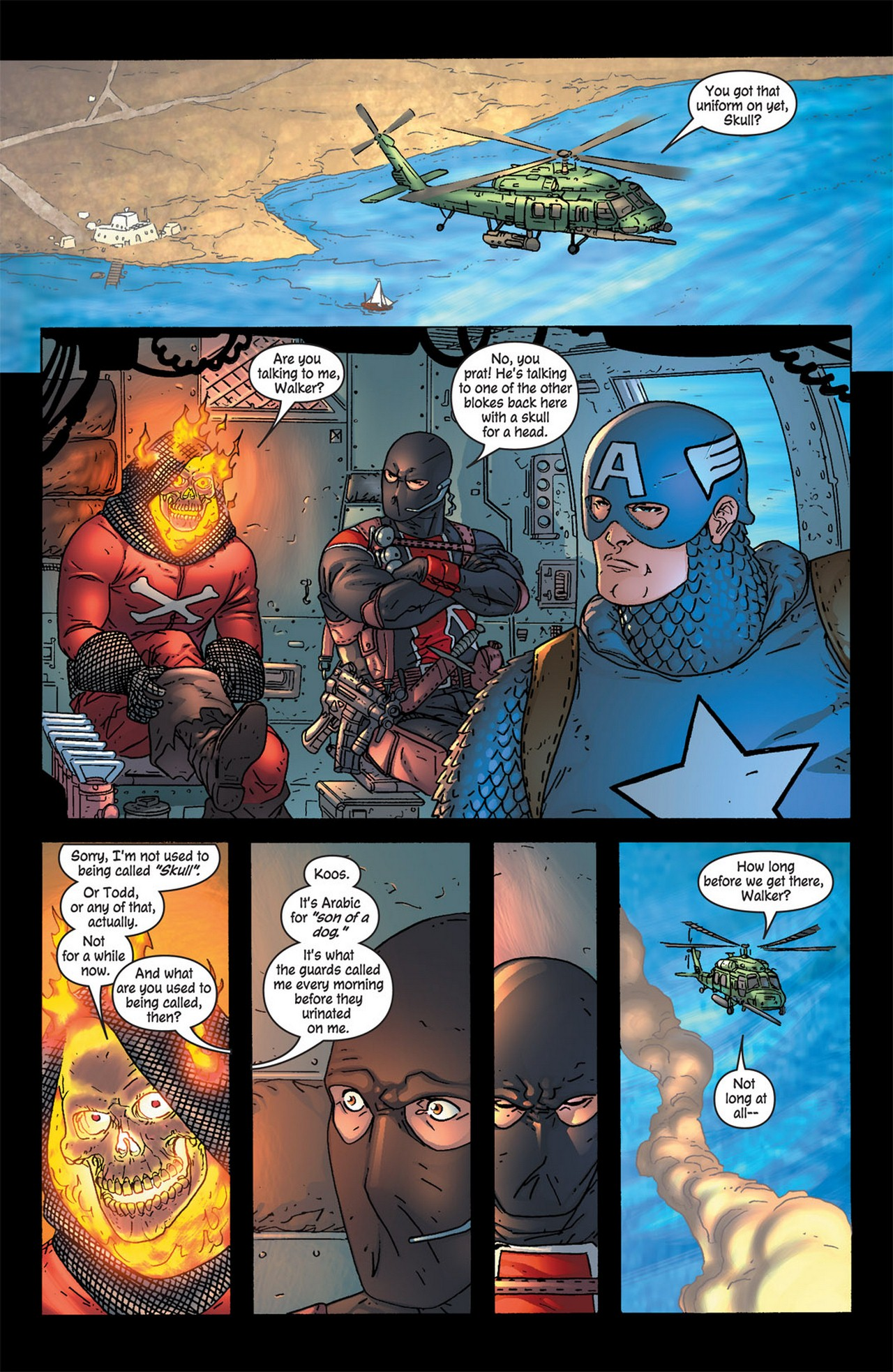 Read online Avengers (1998) comic -  Issue #83 - 5