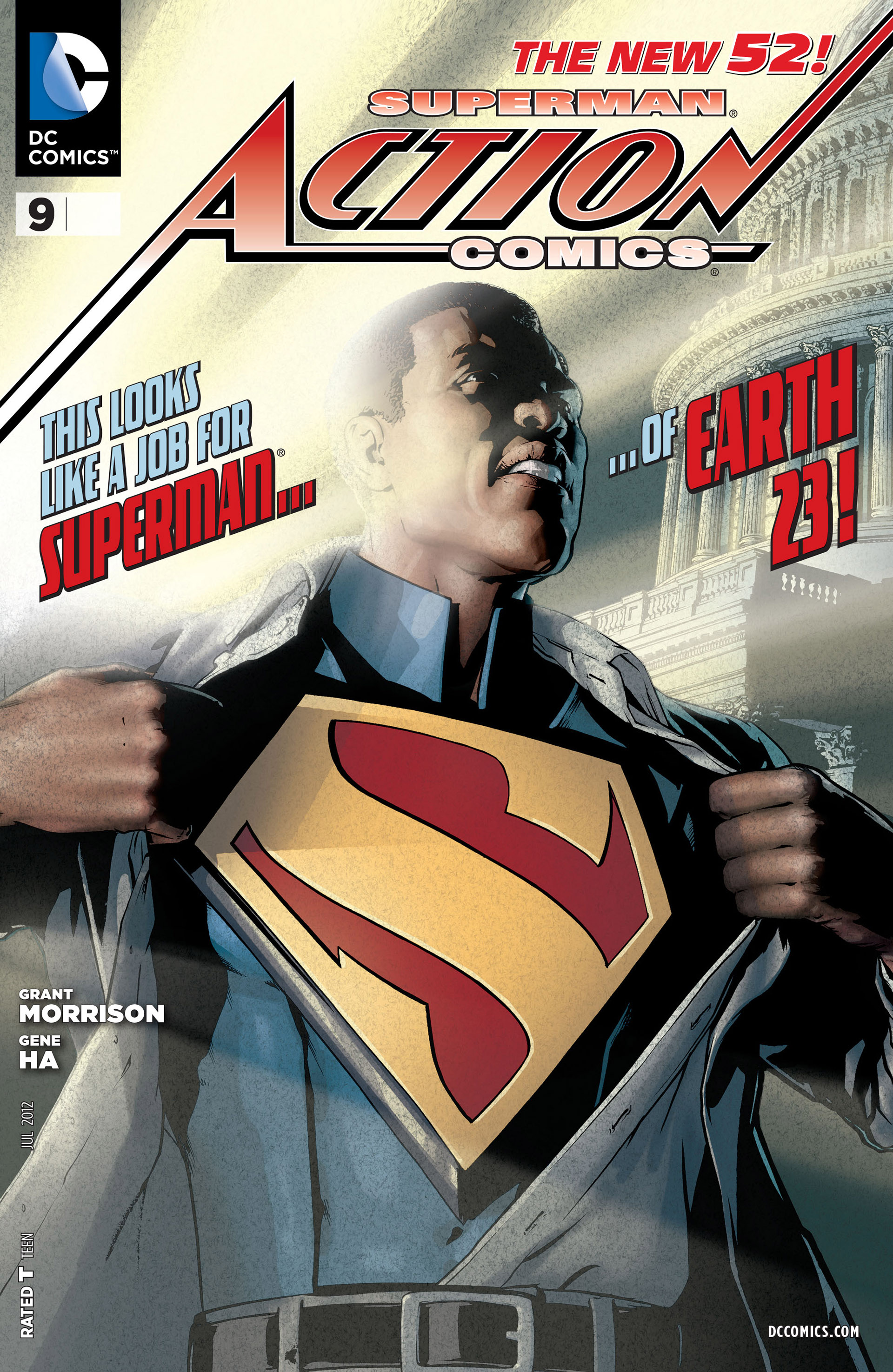 Read online Action Comics (2011) comic -  Issue #9 - 1