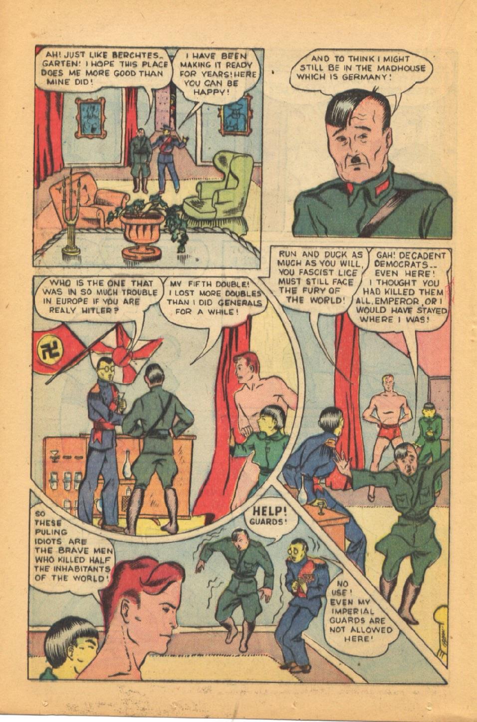 Read online Super-Magician Comics comic -  Issue #44 - 30
