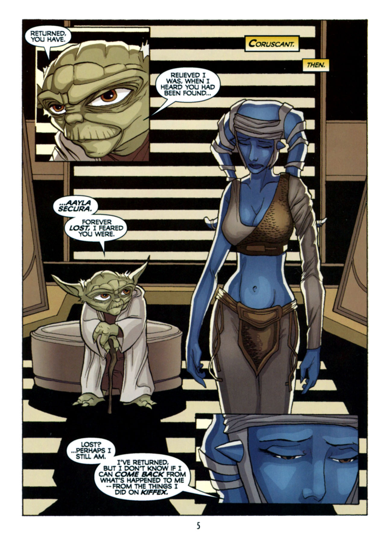 Read online Star Wars: The Clone Wars - Deadly Hands of Shon-Ju comic -  Issue # Full - 6