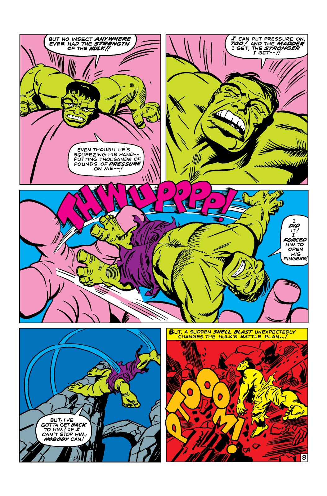 Read online Marvel Masterworks: The Incredible Hulk comic -  Issue # TPB 2 (Part 2) - 42