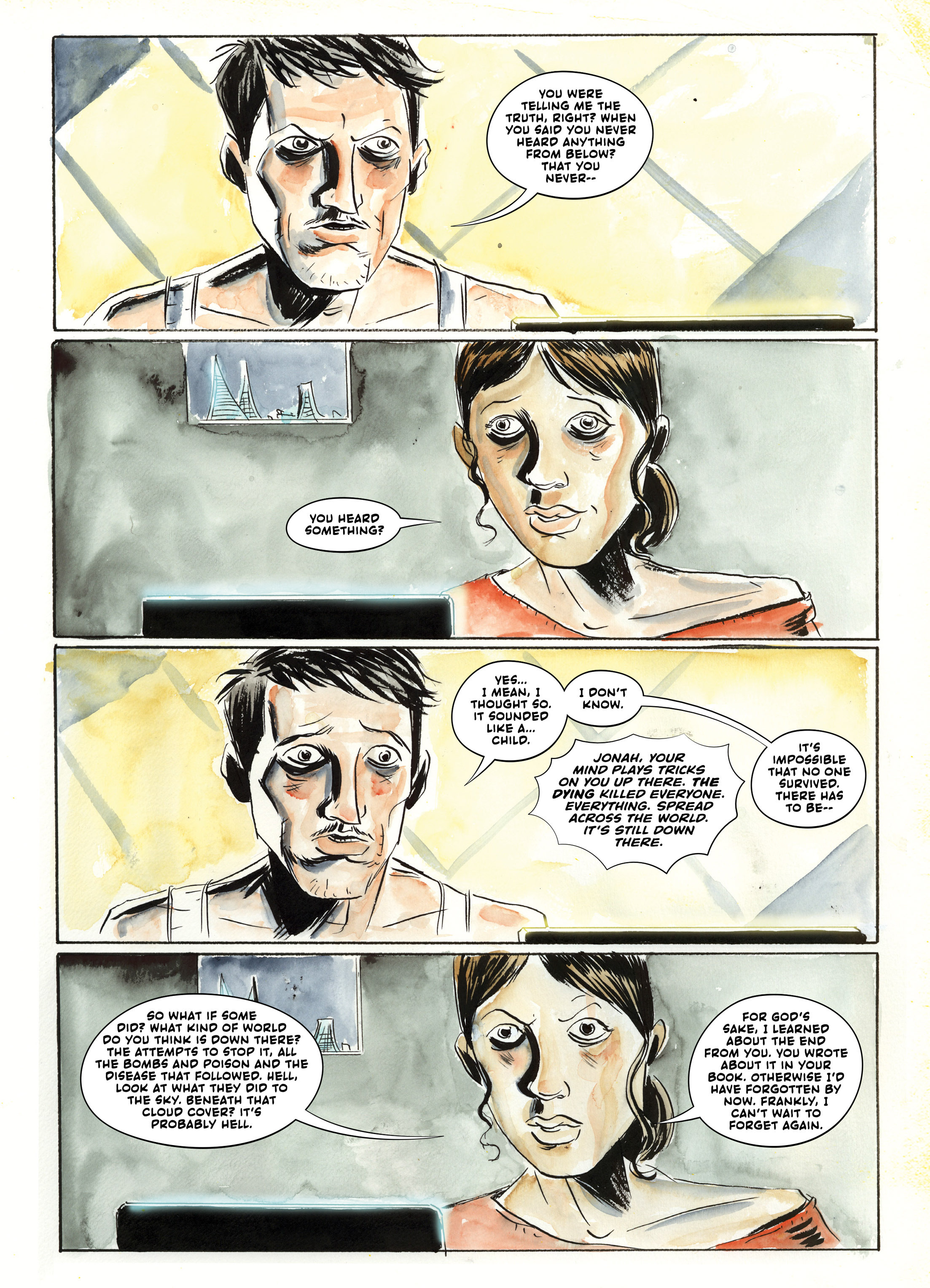 Read online A.D.: After Death comic -  Issue #2 - 36