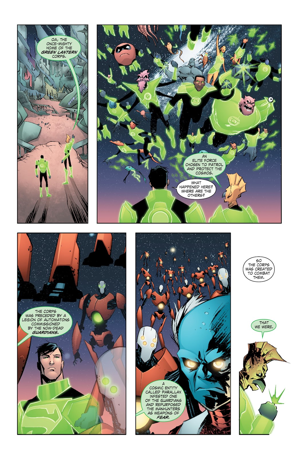 Read online Smallville Season 11 [II] comic -  Issue # TPB 7 - 31