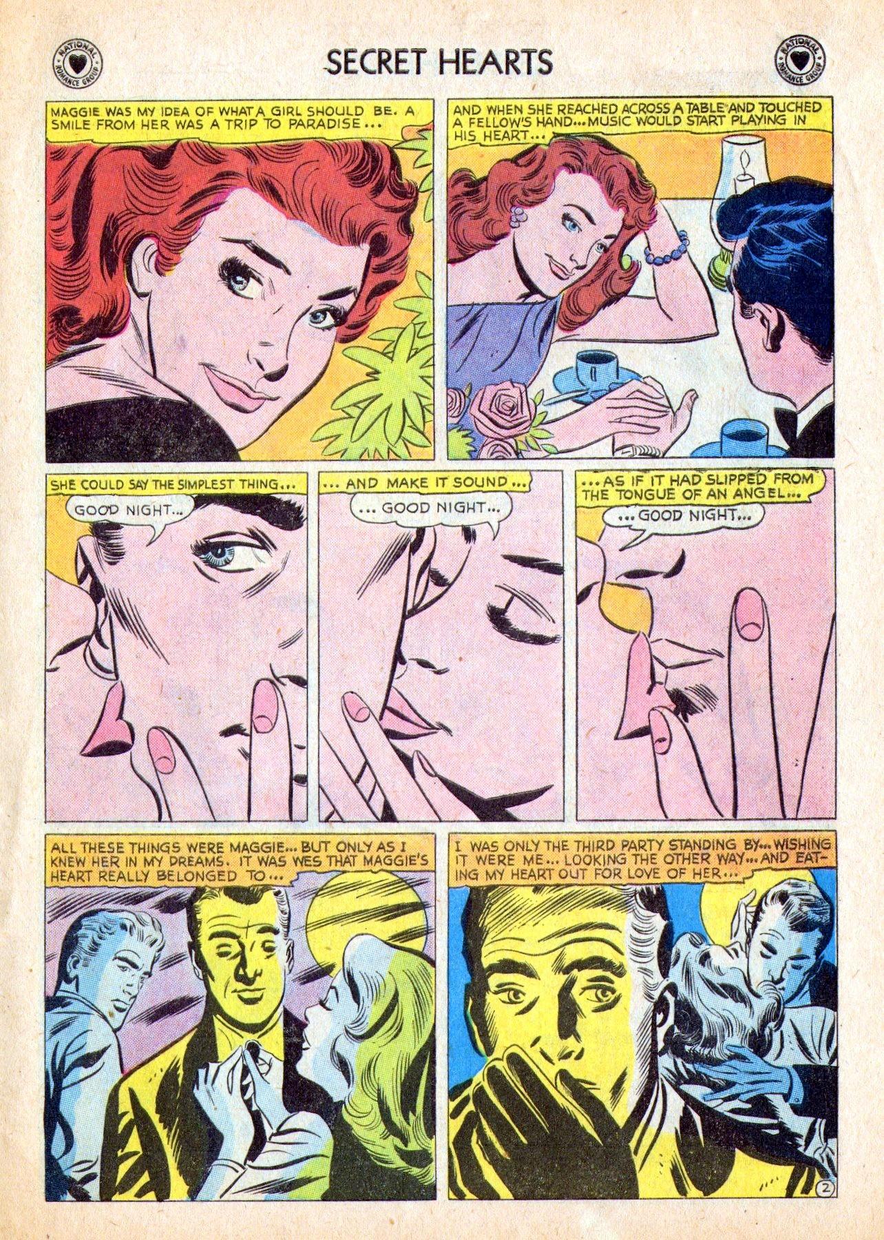 Read online Secret Hearts comic -  Issue #53 - 27