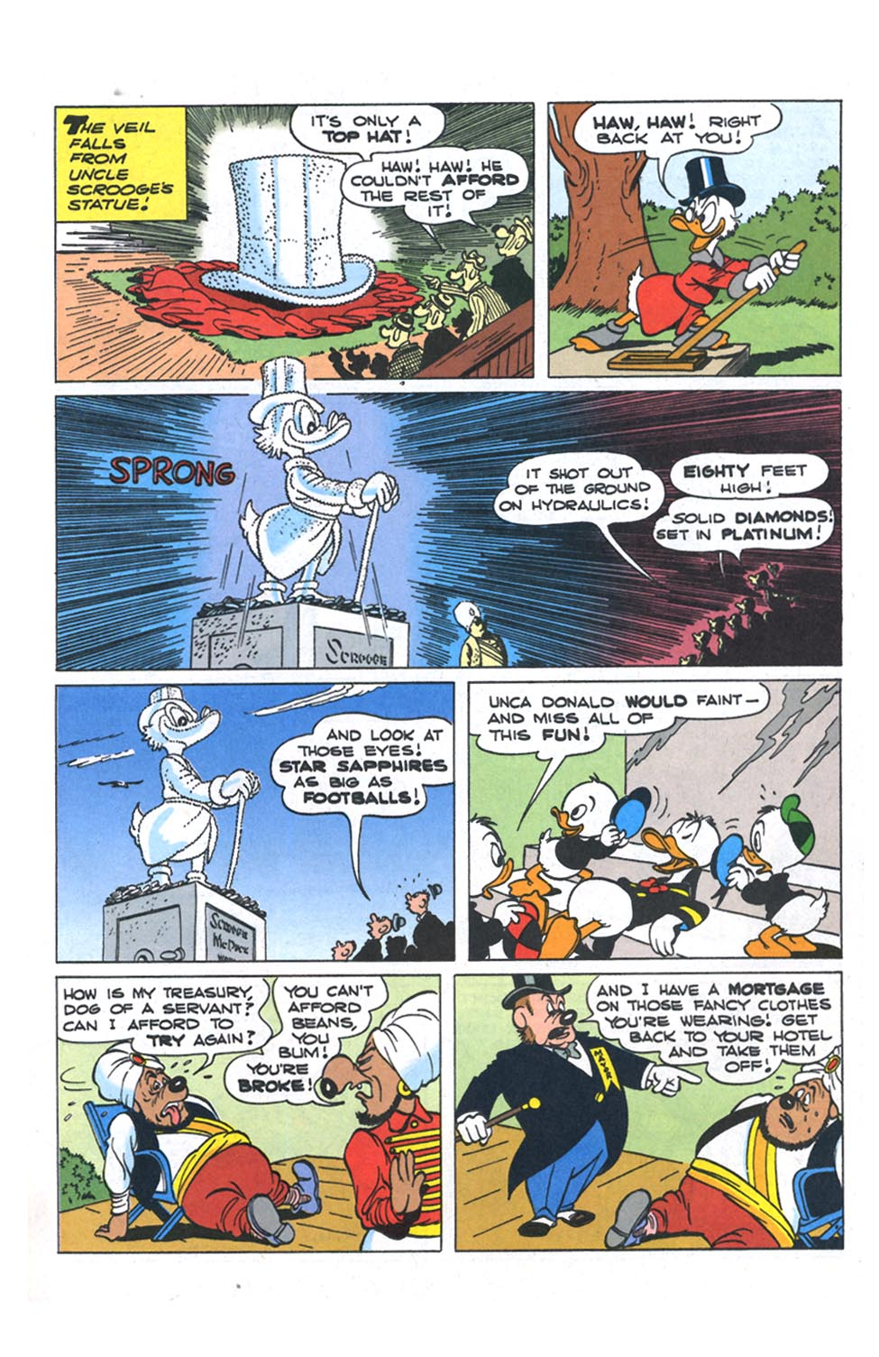 Read online Uncle Scrooge (1953) comic -  Issue #301 - 10