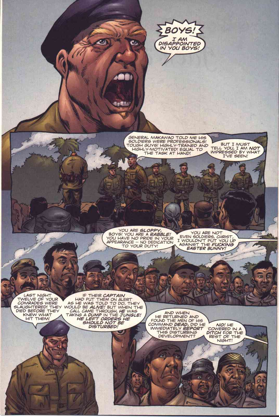 Read online Fury comic -  Issue #4 - 6