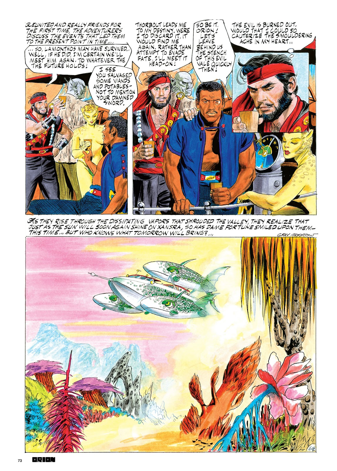 Read online Orion and Edge of Chaos comic -  Issue # TPB - 74